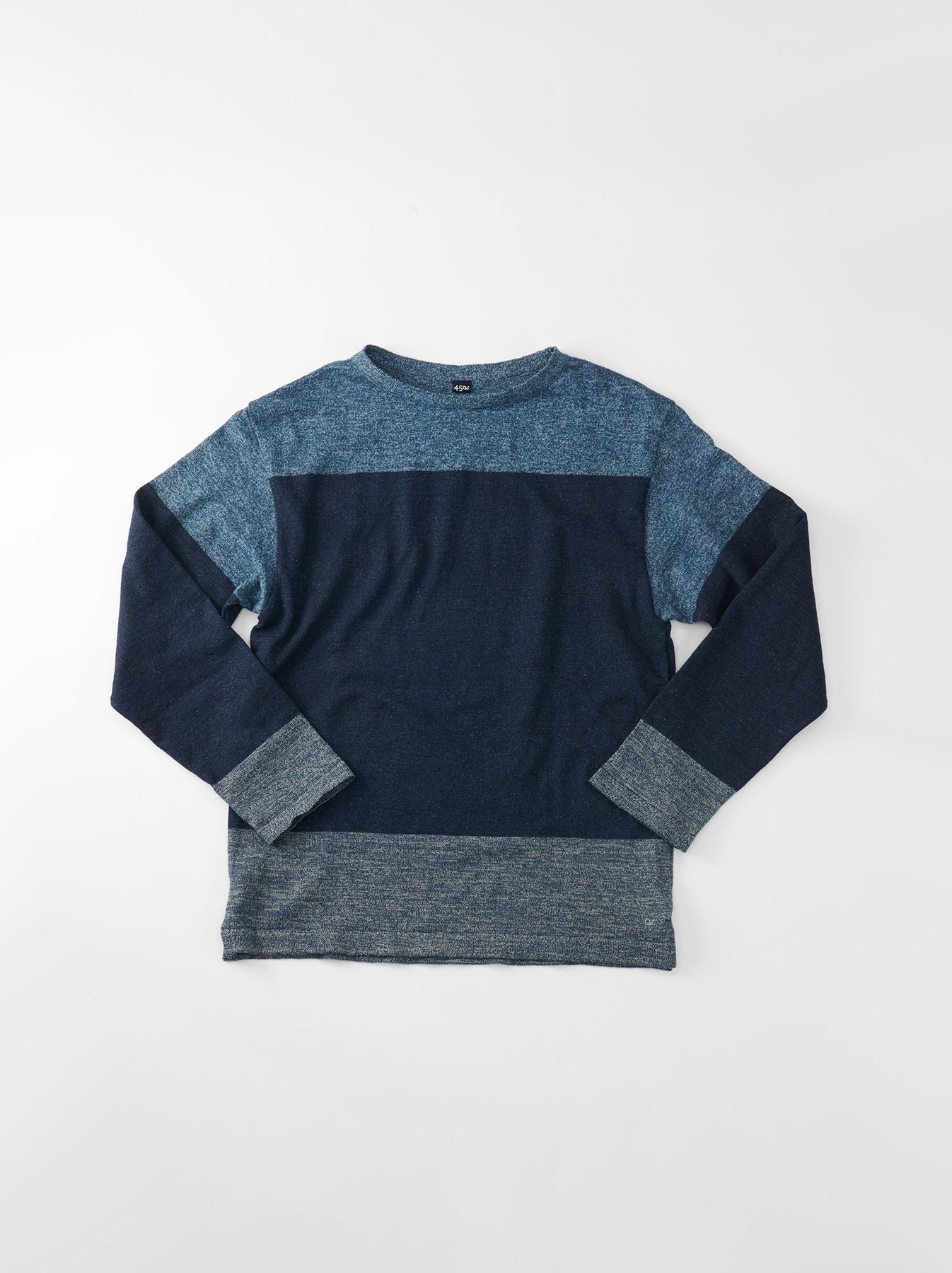 WH Gauze Basque Knit T-shirt-1