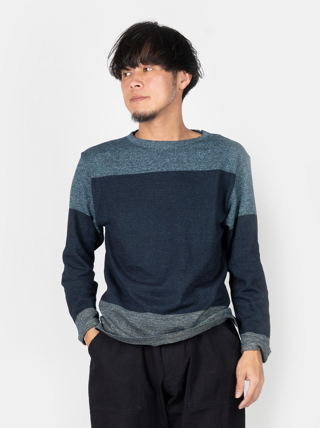 WH Gauze Basque Knit T-shirt-3