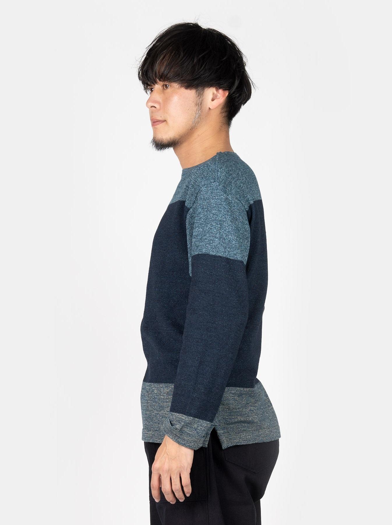 WH Gauze Basque Knit T-shirt-4