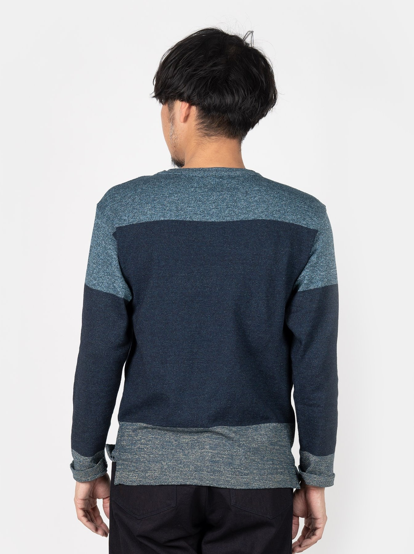 WH Gauze Basque Knit T-shirt-5