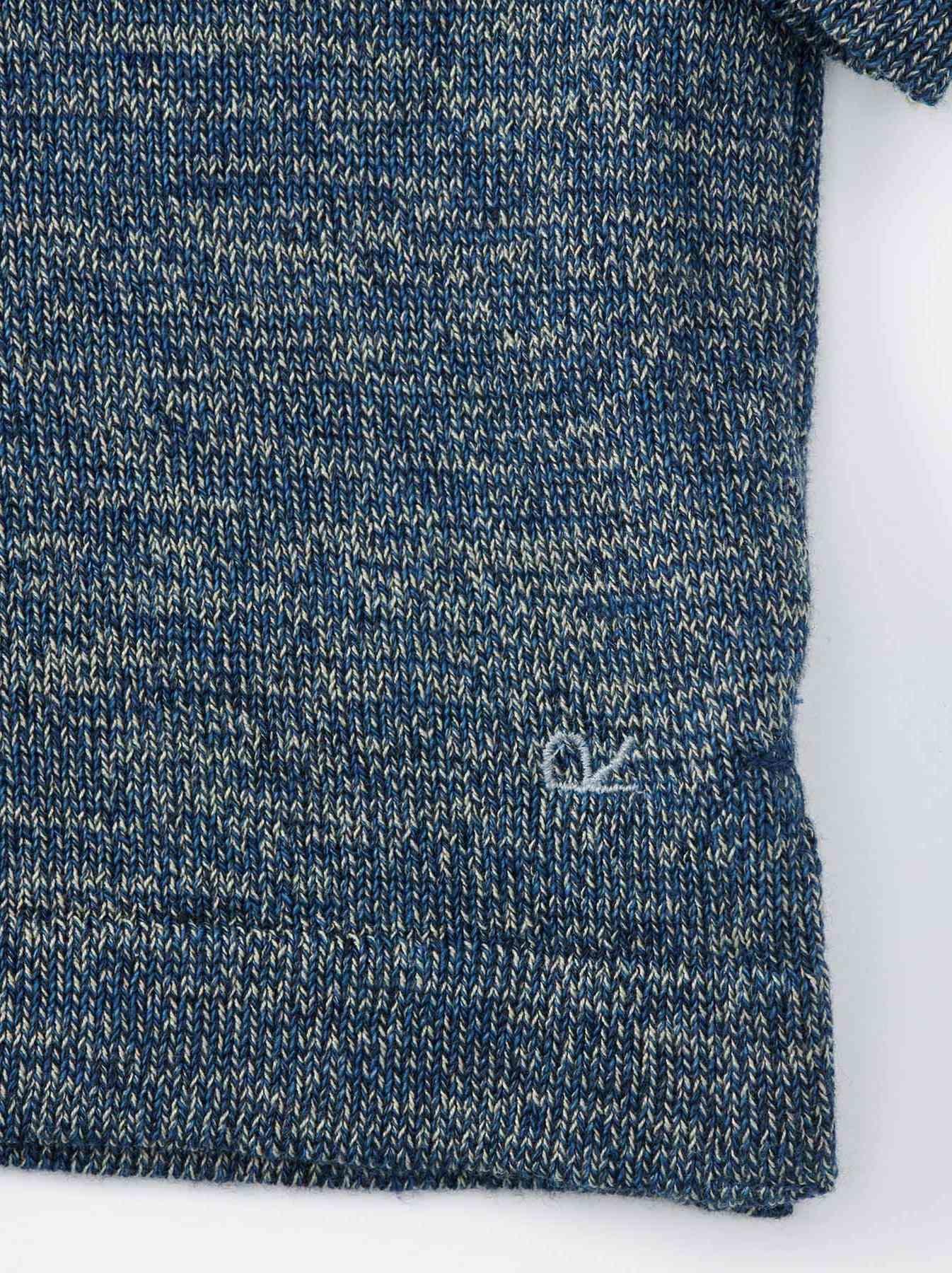 WH Gauze Basque Knit T-shirt-8