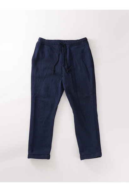 Indigo Mouton Fleecy Easy Pants