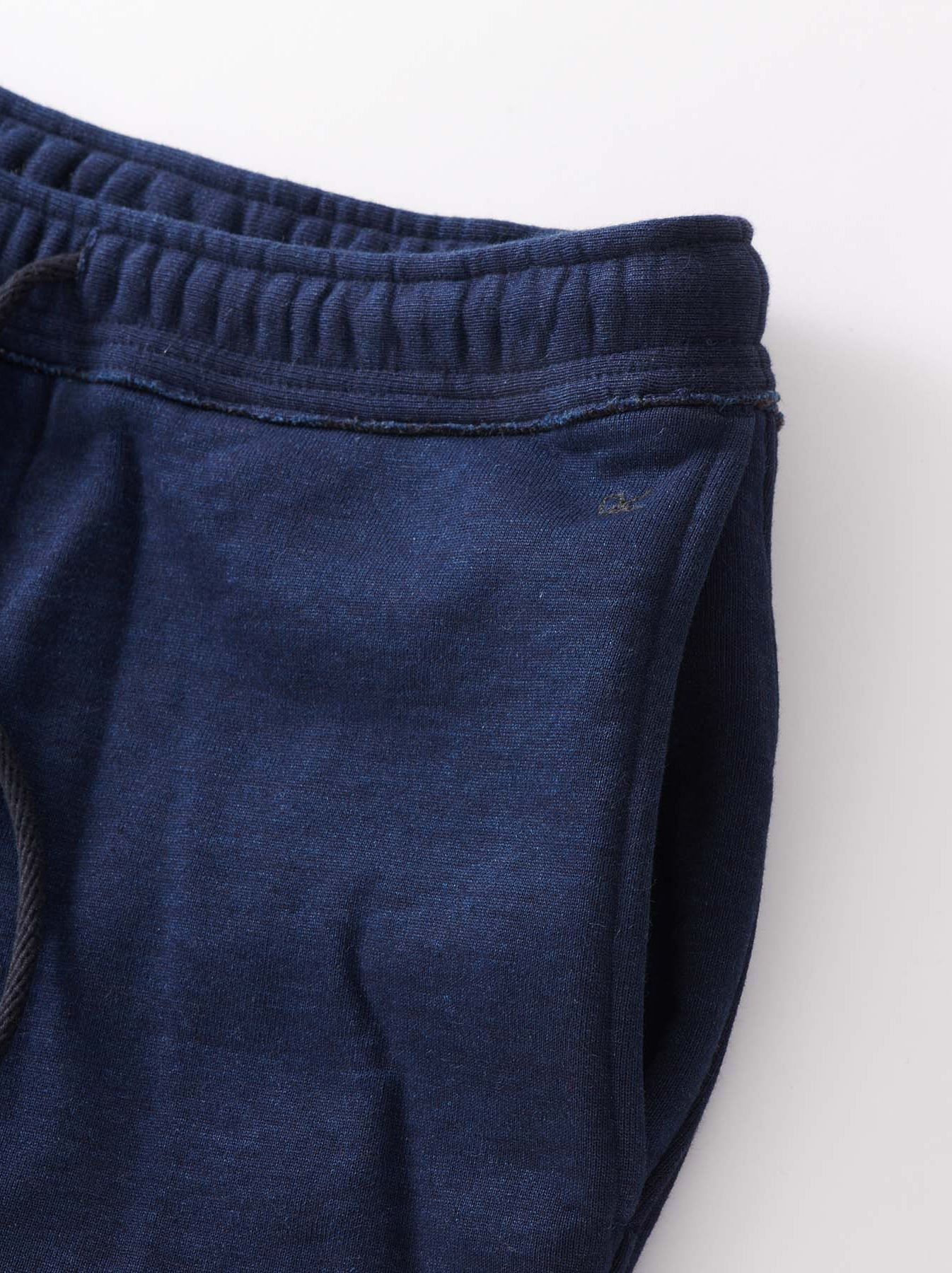 Indigo Mouton Fleecy Easy Pants-7