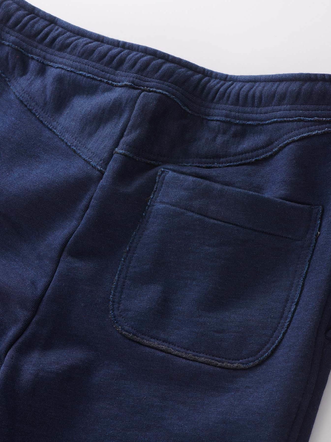 Indigo Mouton Fleecy Easy Pants-8