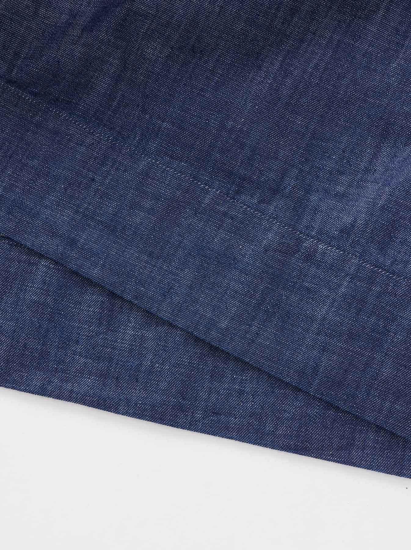 WH Goma Denim Umahiko Pullover Shirt-10