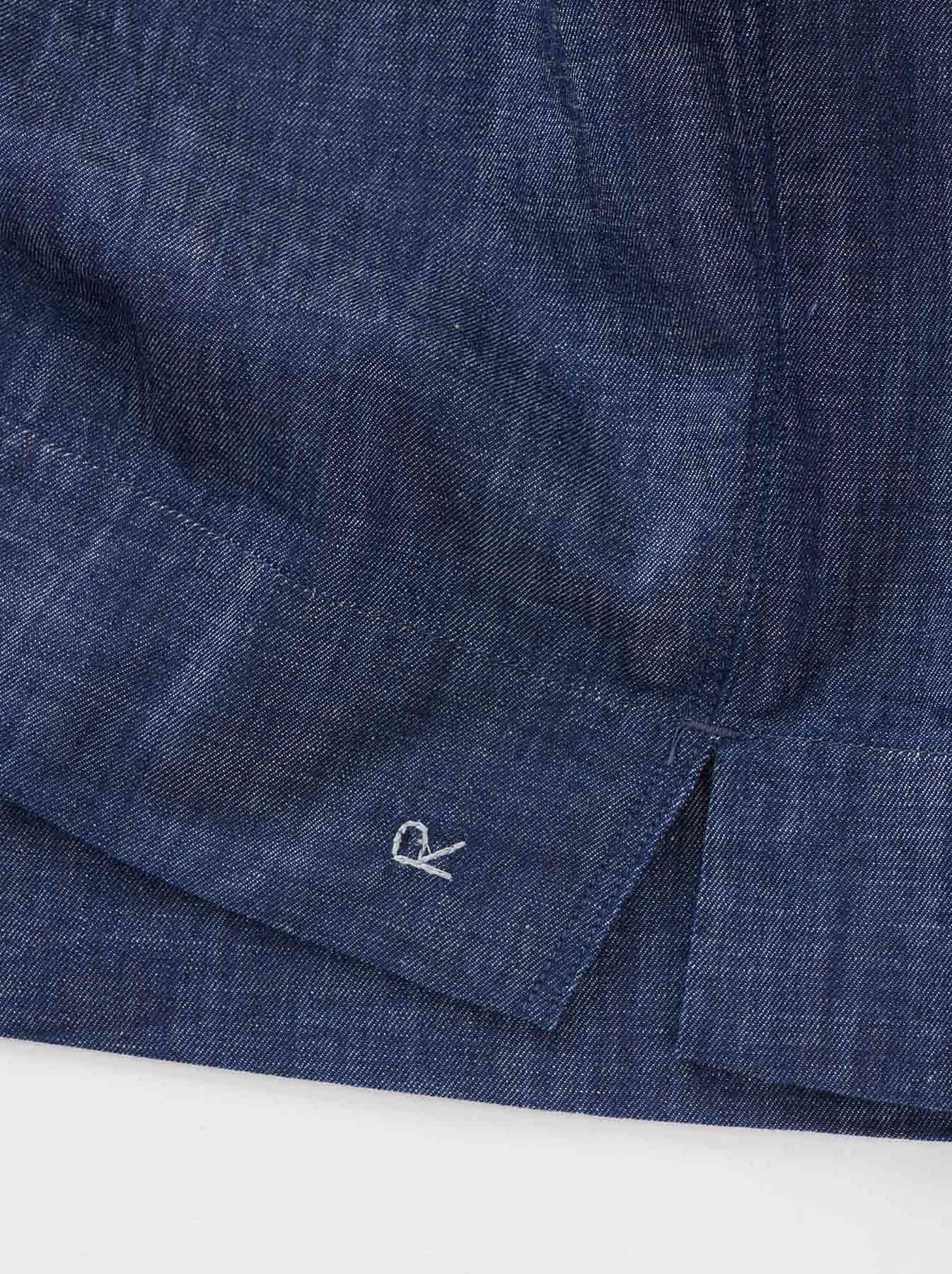 WH Goma Denim Umahiko Pullover Shirt-9