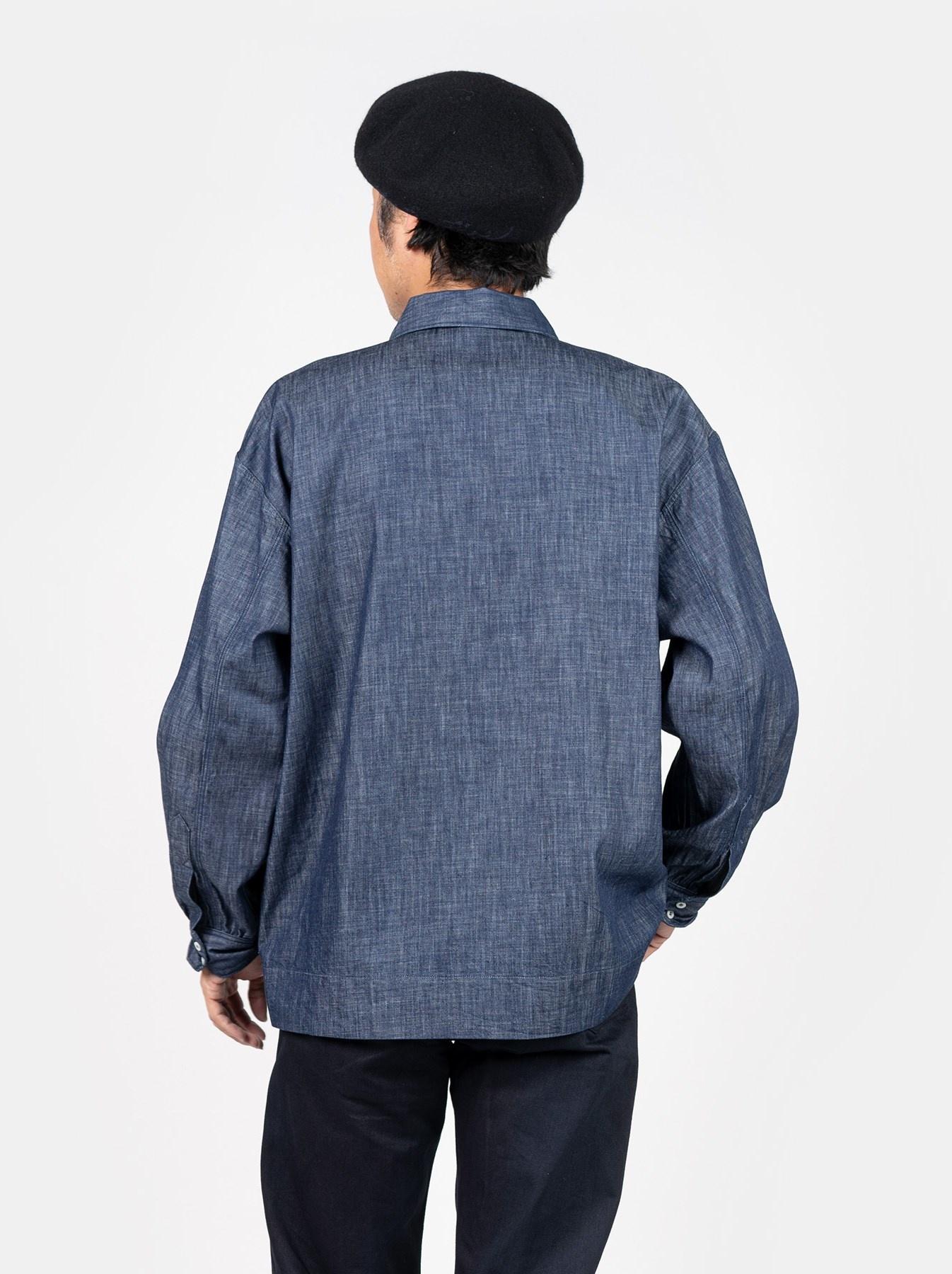 WH Goma Denim Umahiko Pullover Shirt-5