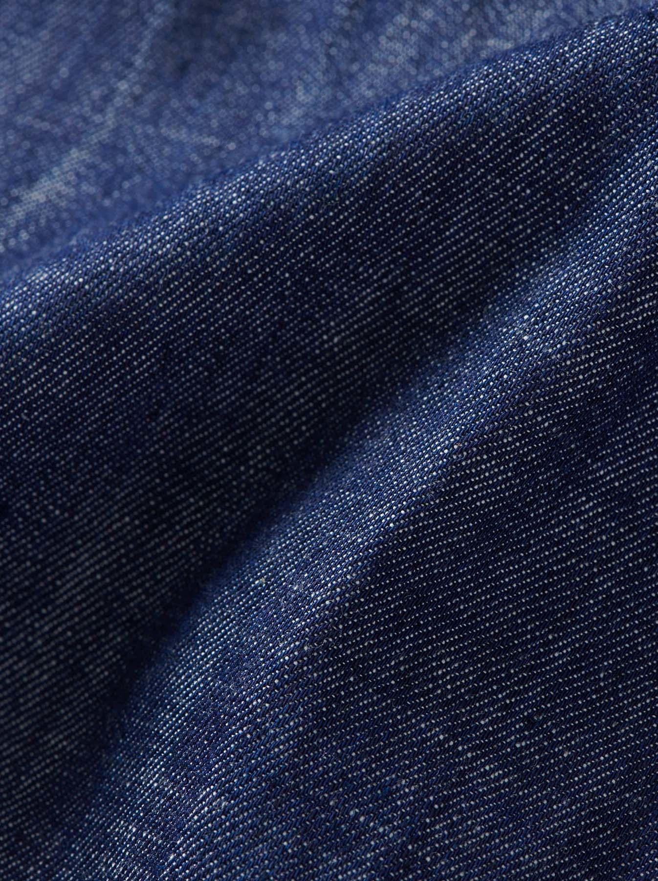 WH Goma Denim Umahiko Pullover Shirt-11