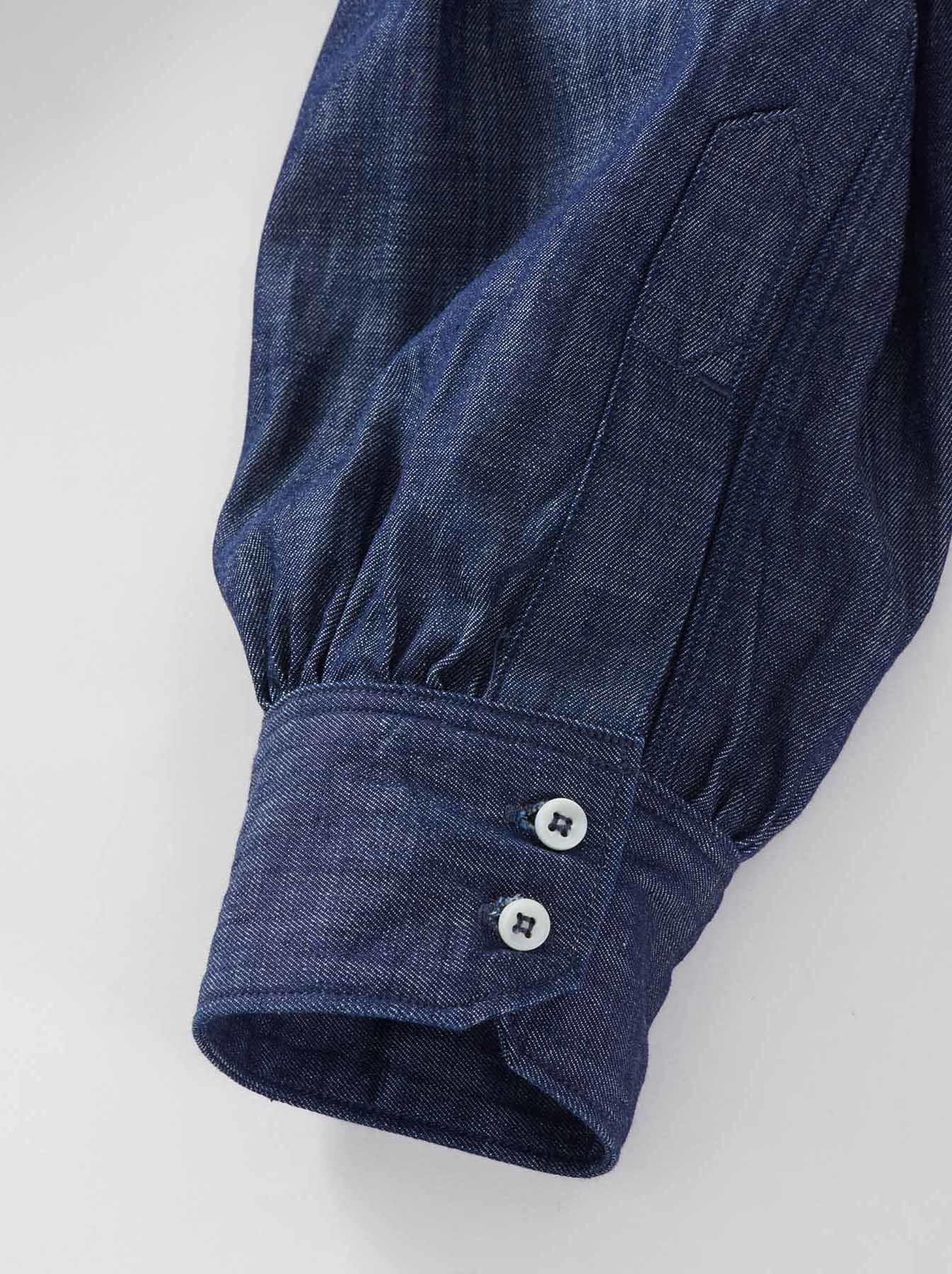 WH Goma Denim Umahiko Pullover Shirt-8