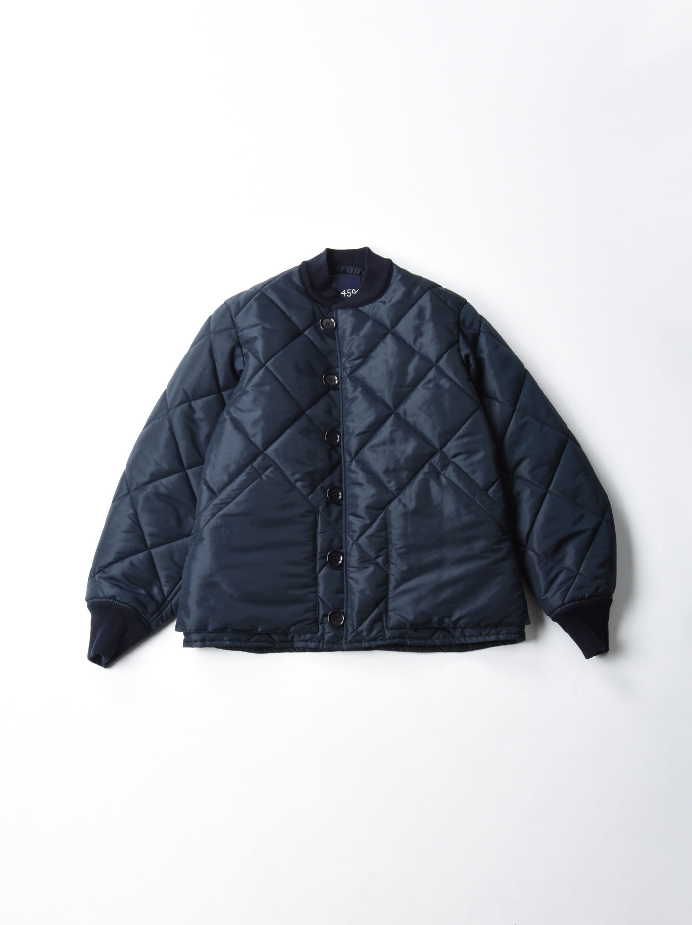 WH Thick Nylon Quilted Bomber Jacket-1