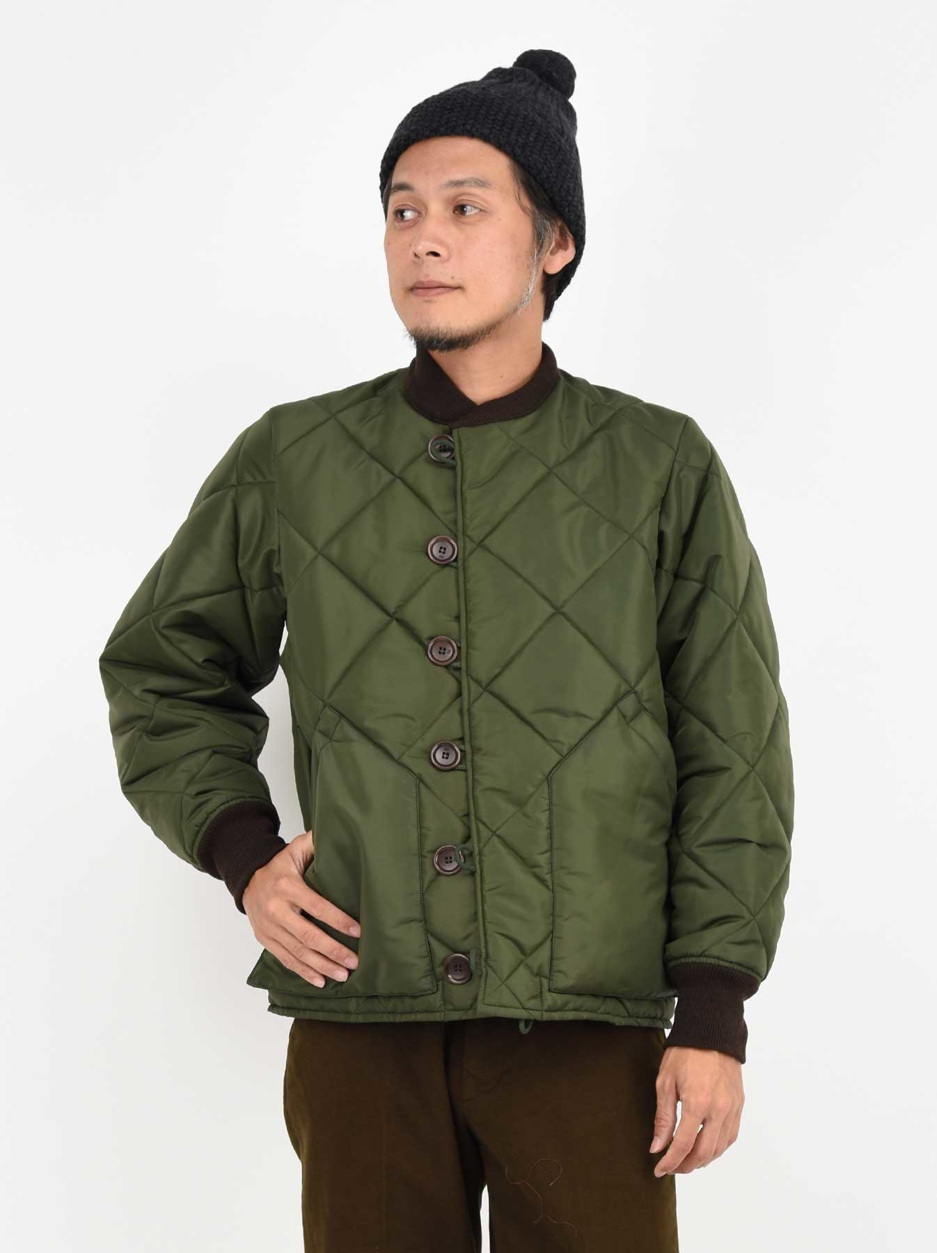 WH Thick Nylon Quilted Bomber Jacket-3
