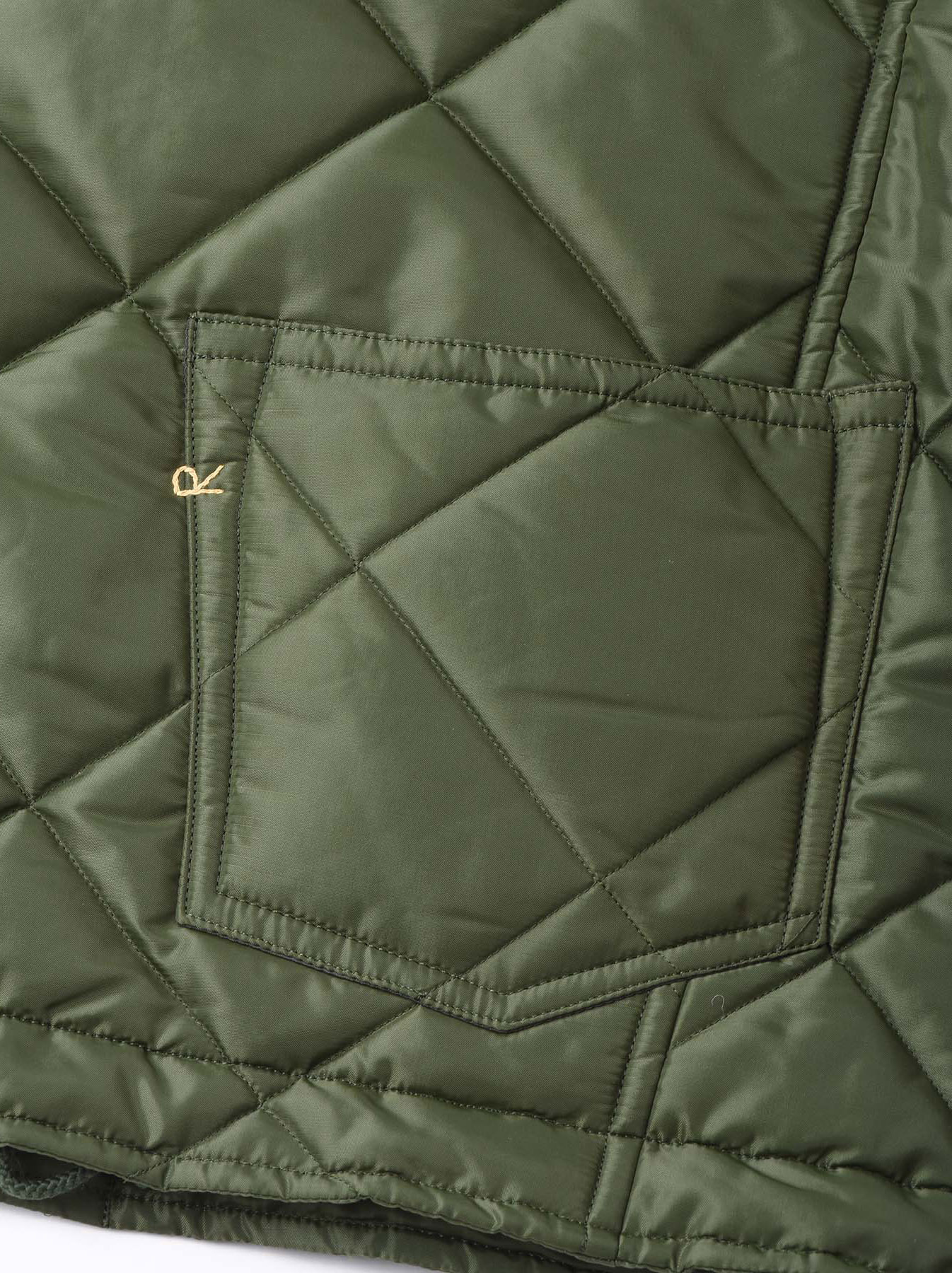 WH Thick Nylon Quilted Bomber Jacket-11
