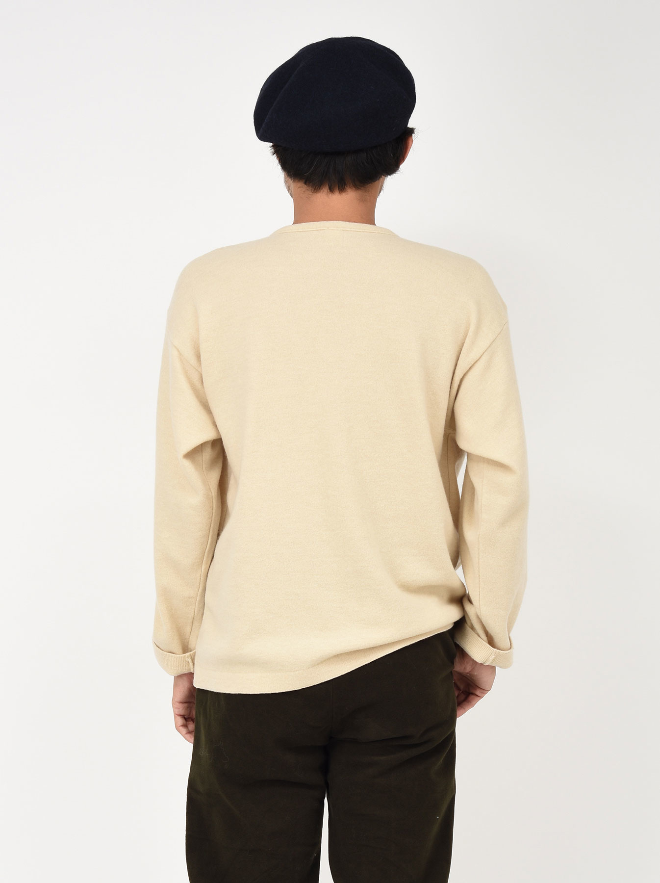 WH Boiled Wool Henley Sweater-7