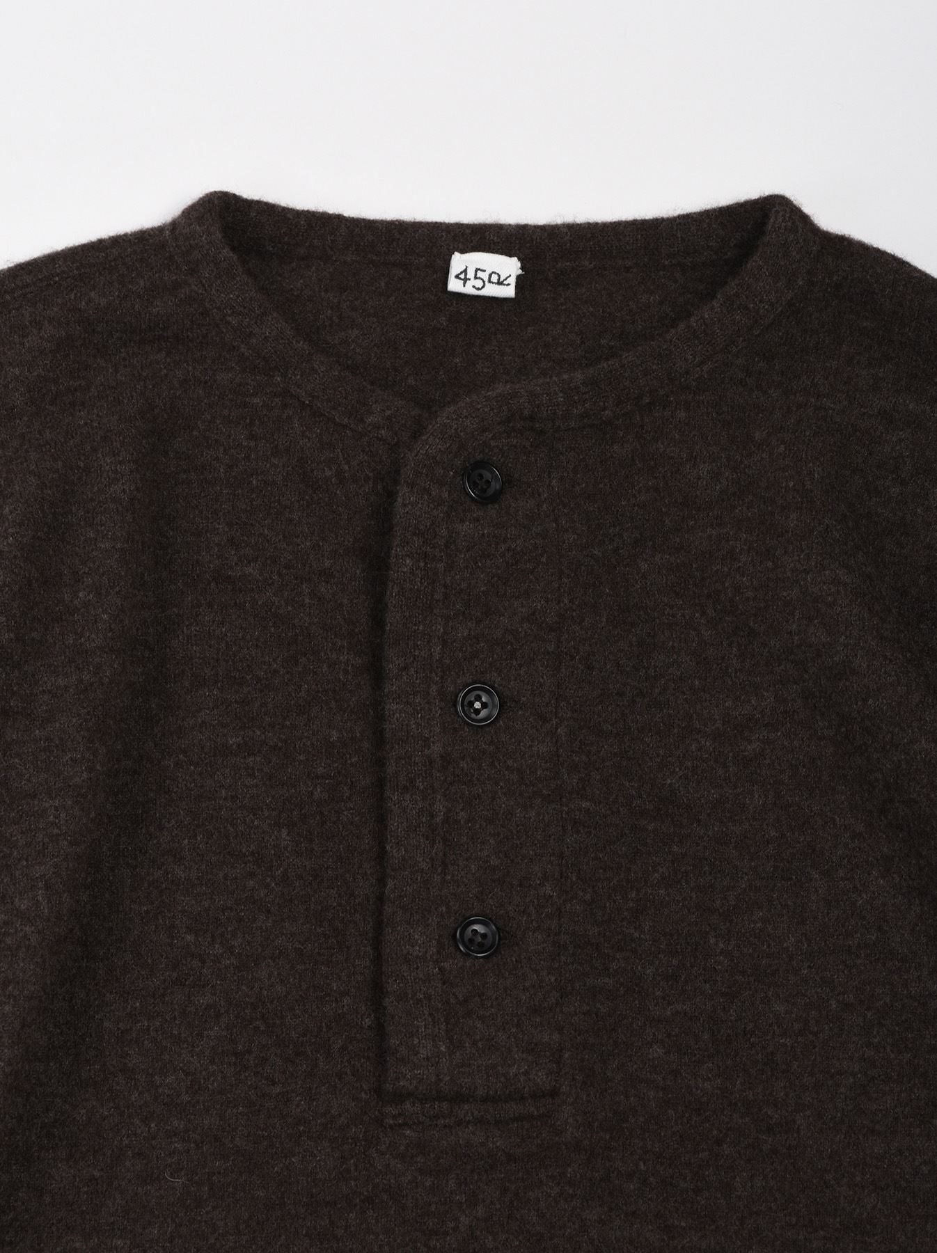WH Boiled Wool Henley Sweater-9