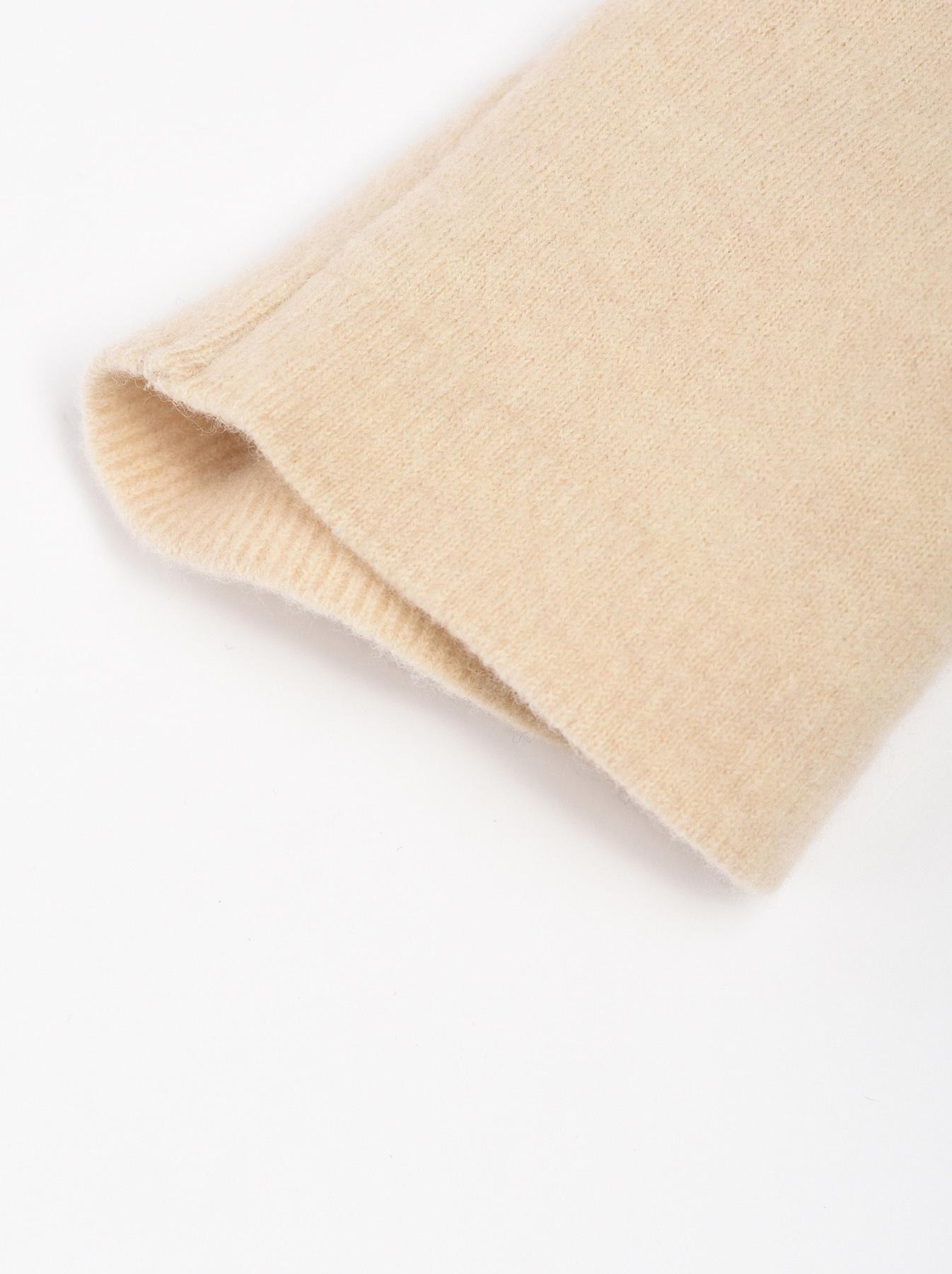 WH Boiled Wool Tenjiku Turtleneck-4