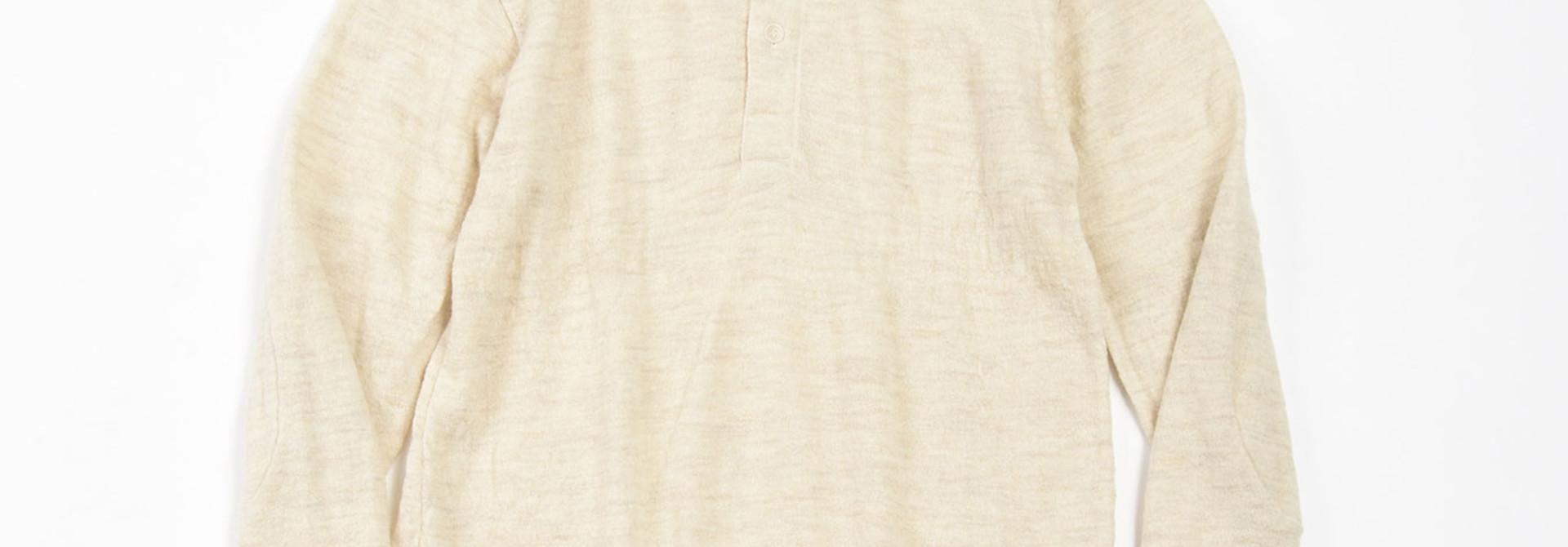 WH Arles Boiled Wool Henley