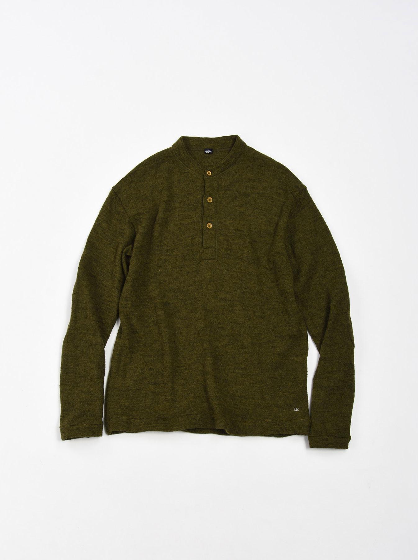 WH Arles Boiled Wool Henley-4