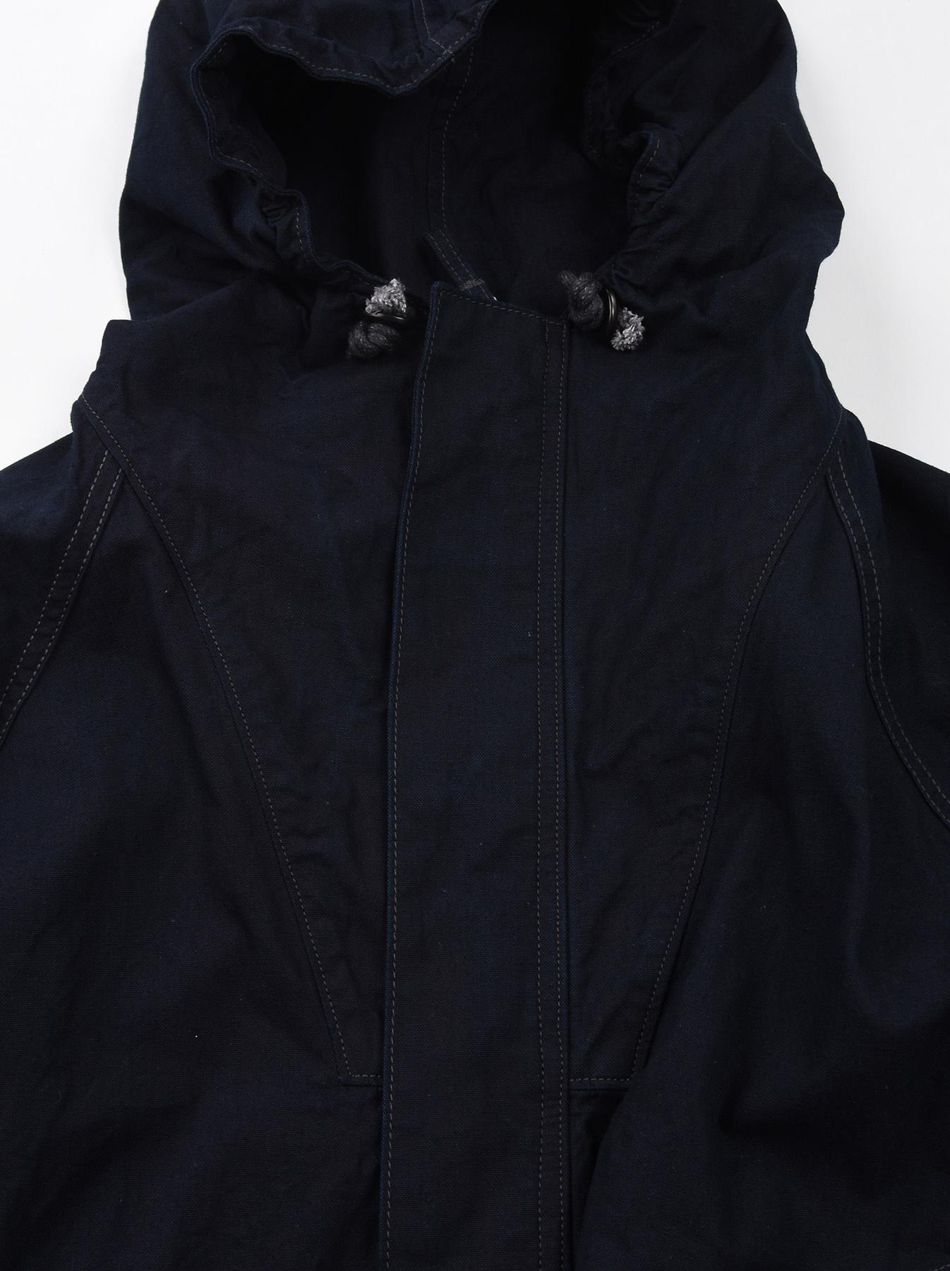 Indigo OX Snow Hoodie Coat-7