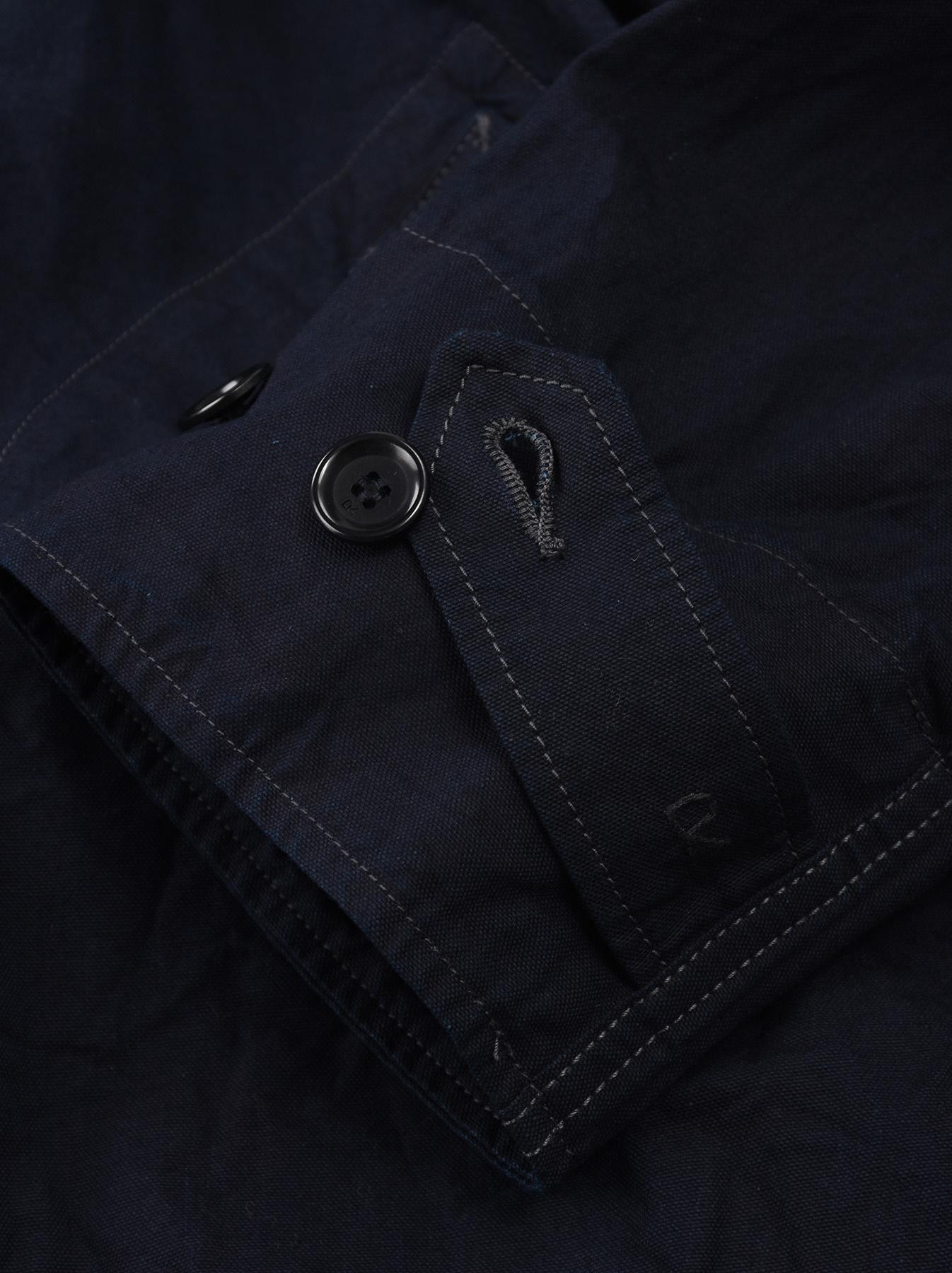 Indigo OX Snow Hoodie Coat-8