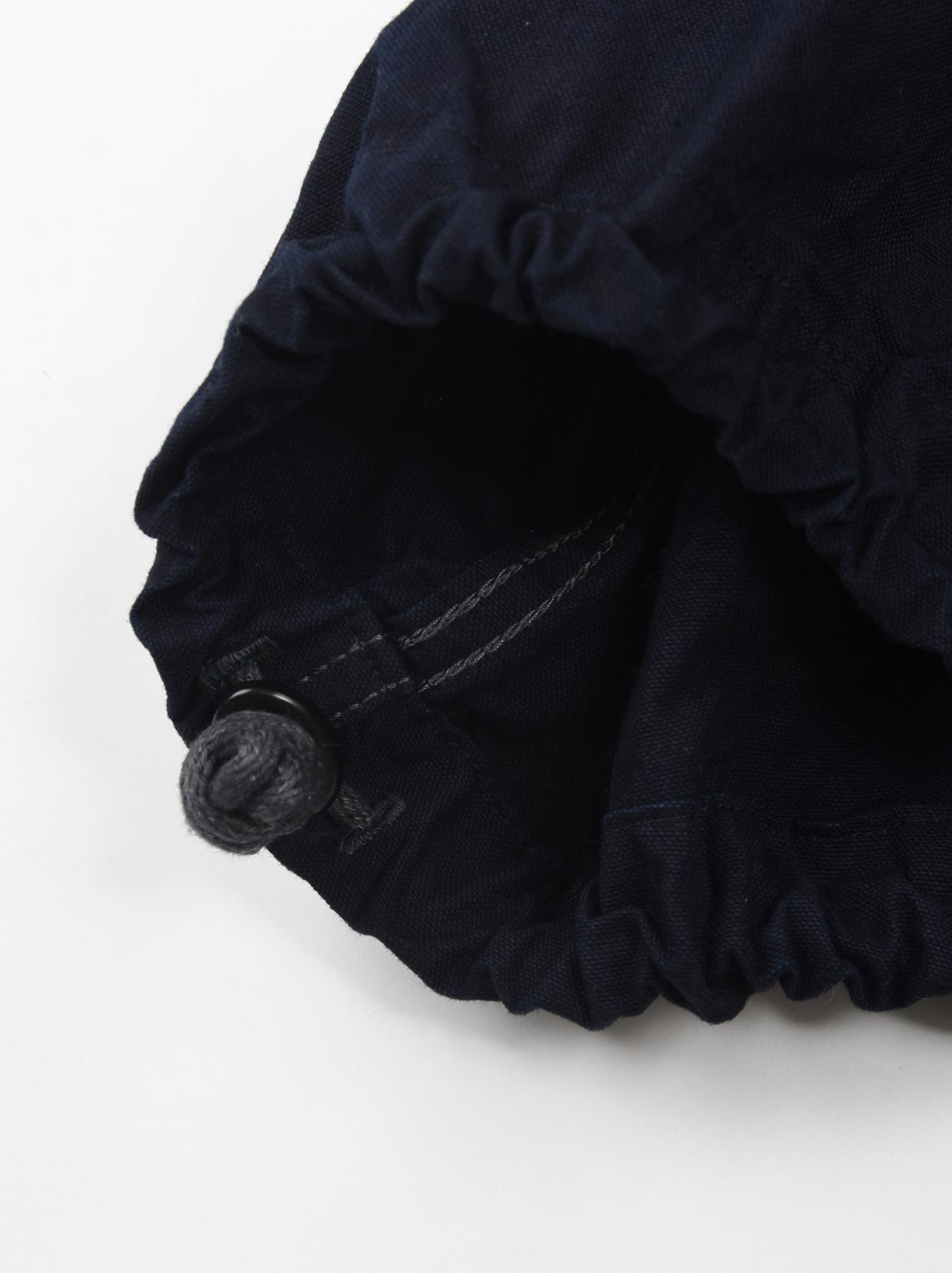 Indigo OX Snow Hoodie Coat-11