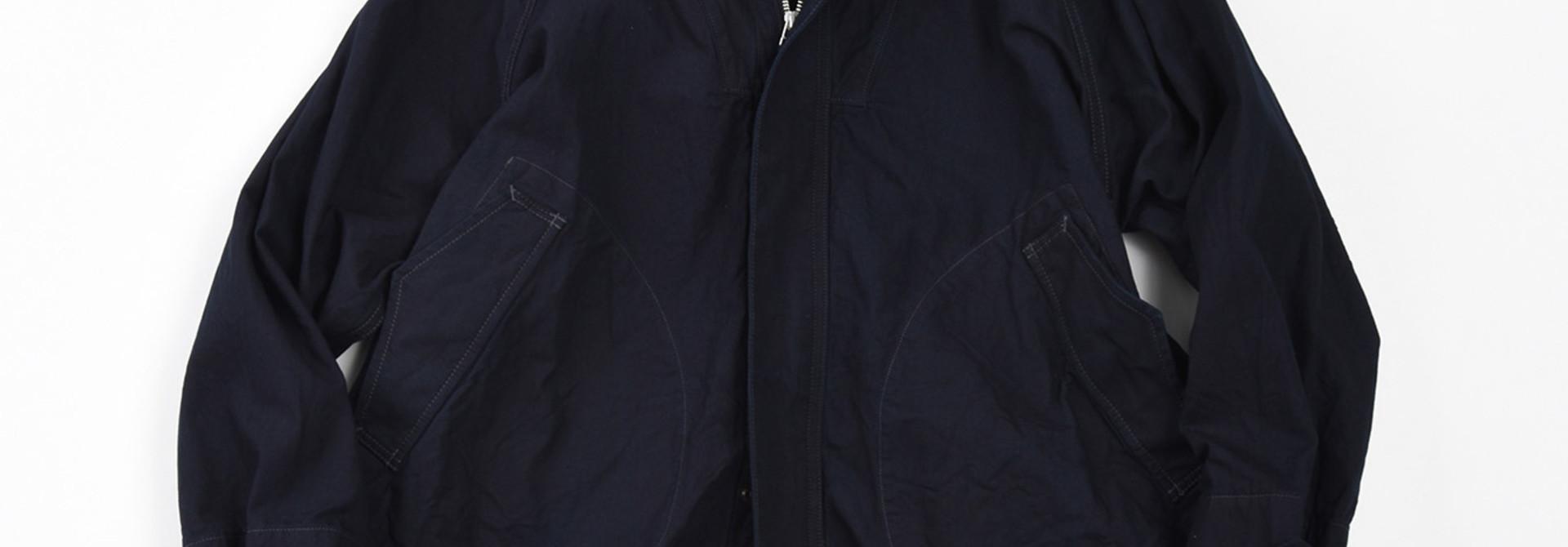 Indigo OX Snow Hoodie Coat
