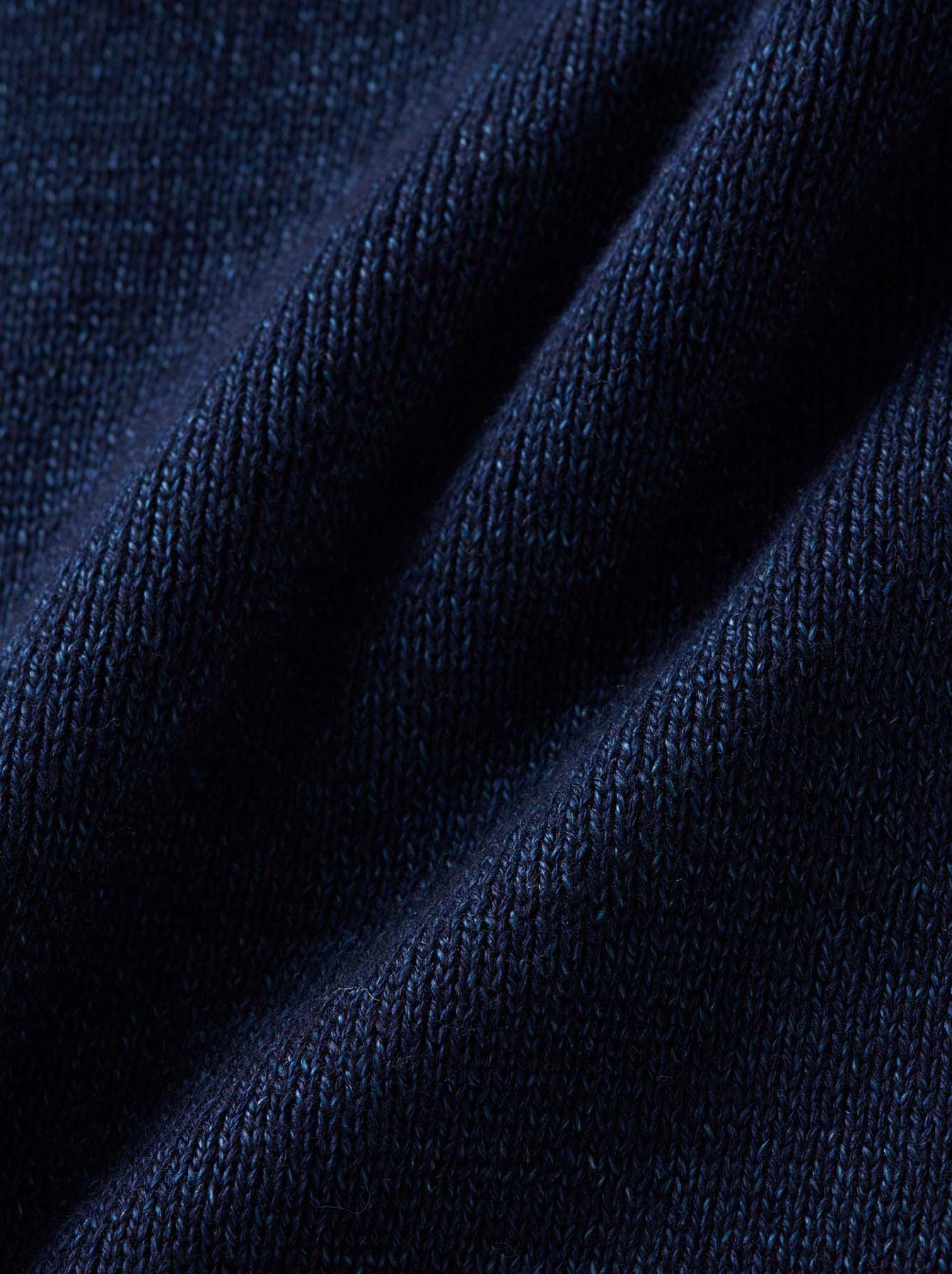 WH Indigo Supima Knit-sew Coat-9