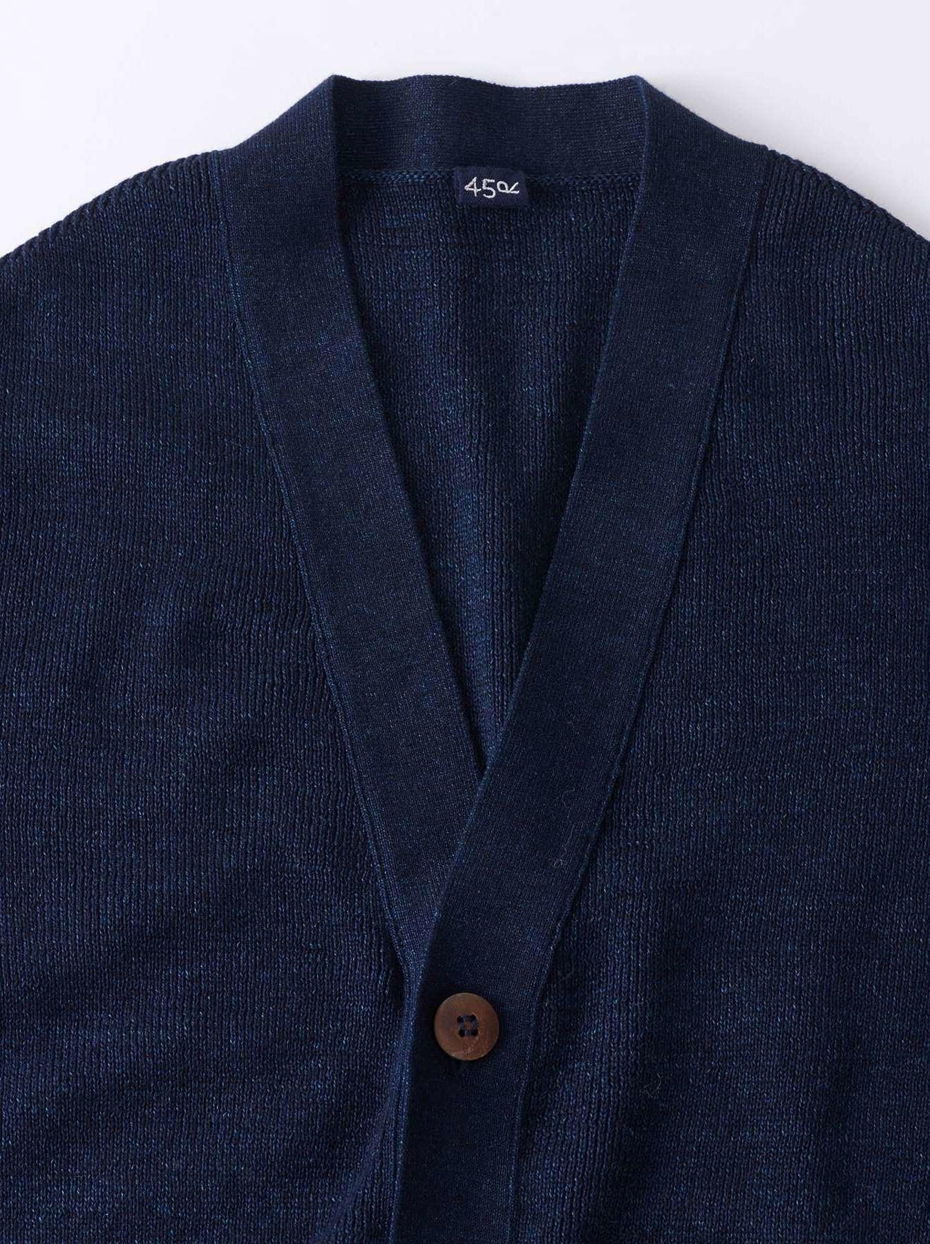 WH Indigo Supima Knit-sew Coat-2