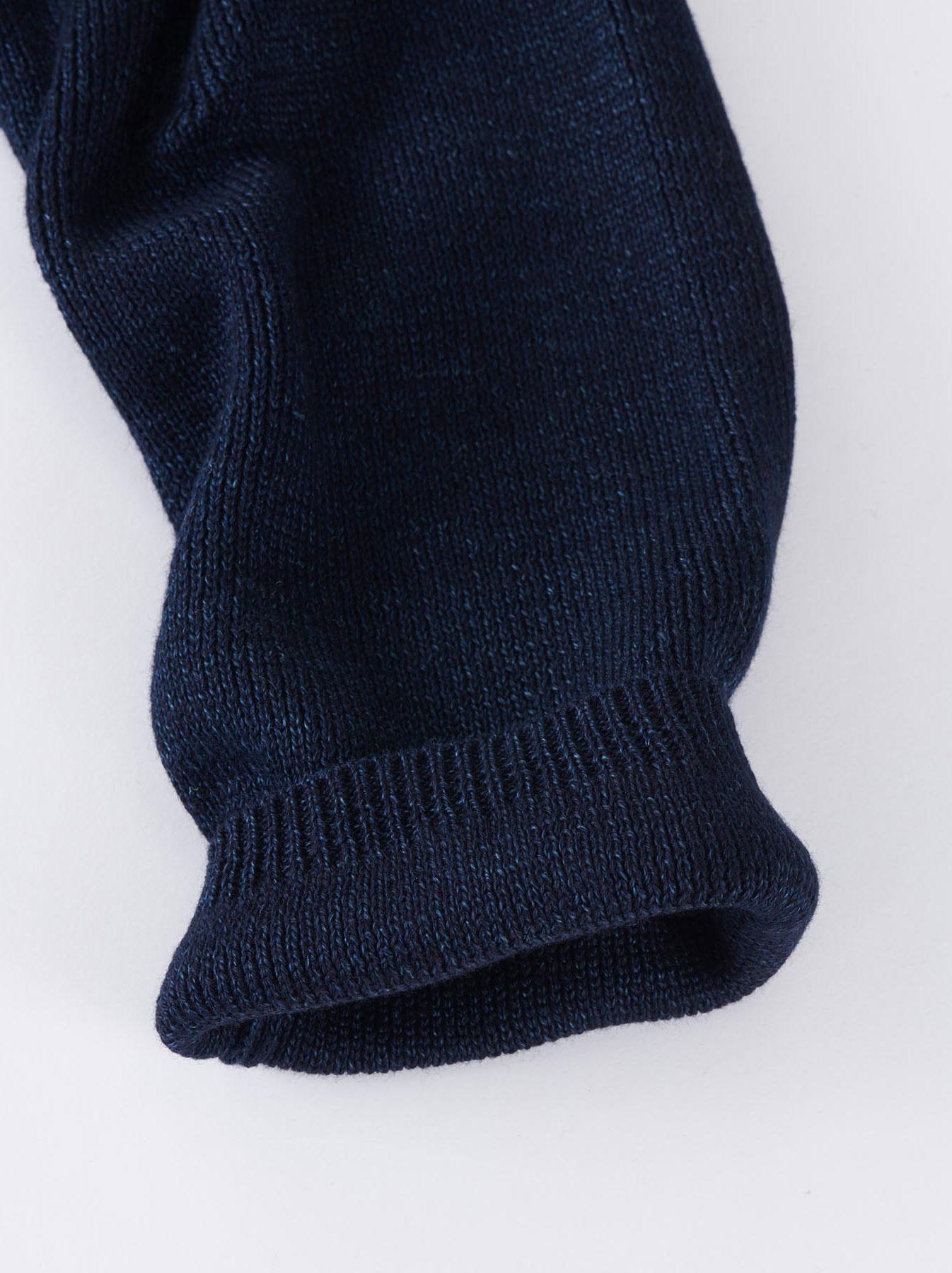 WH Indigo Supima Knit-sew Coat-8
