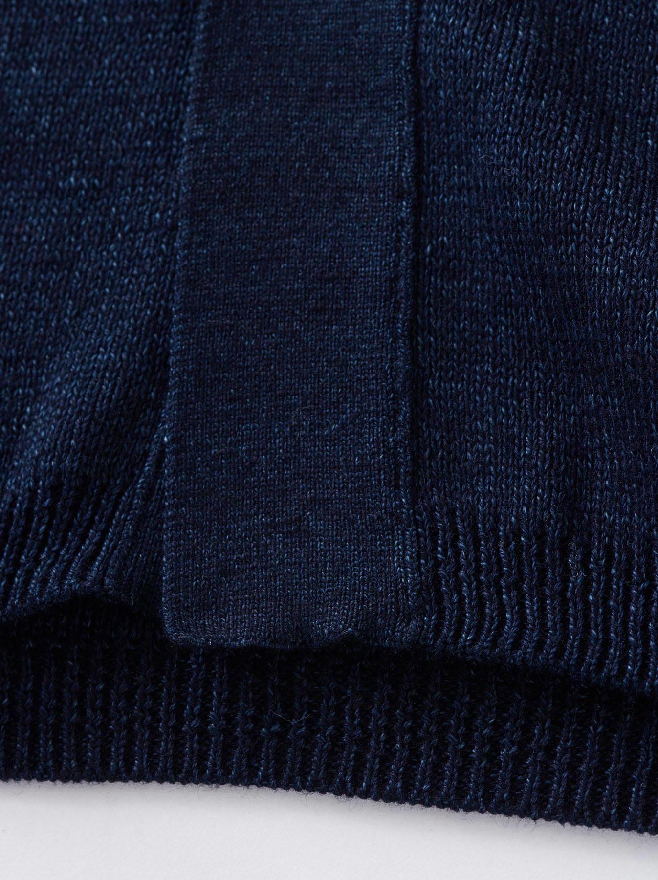 WH Indigo Supima Knit-sew Coat-5