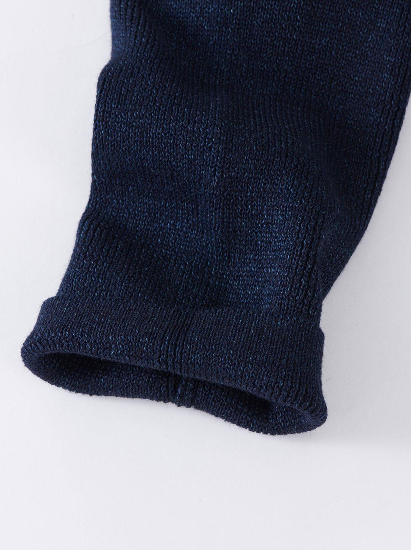 WH Indigo Supima Knit-sew Coat-7