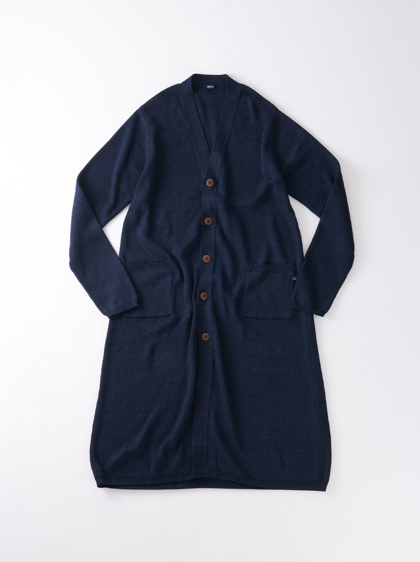 WH Indigo Supima Knit-sew Coat-1