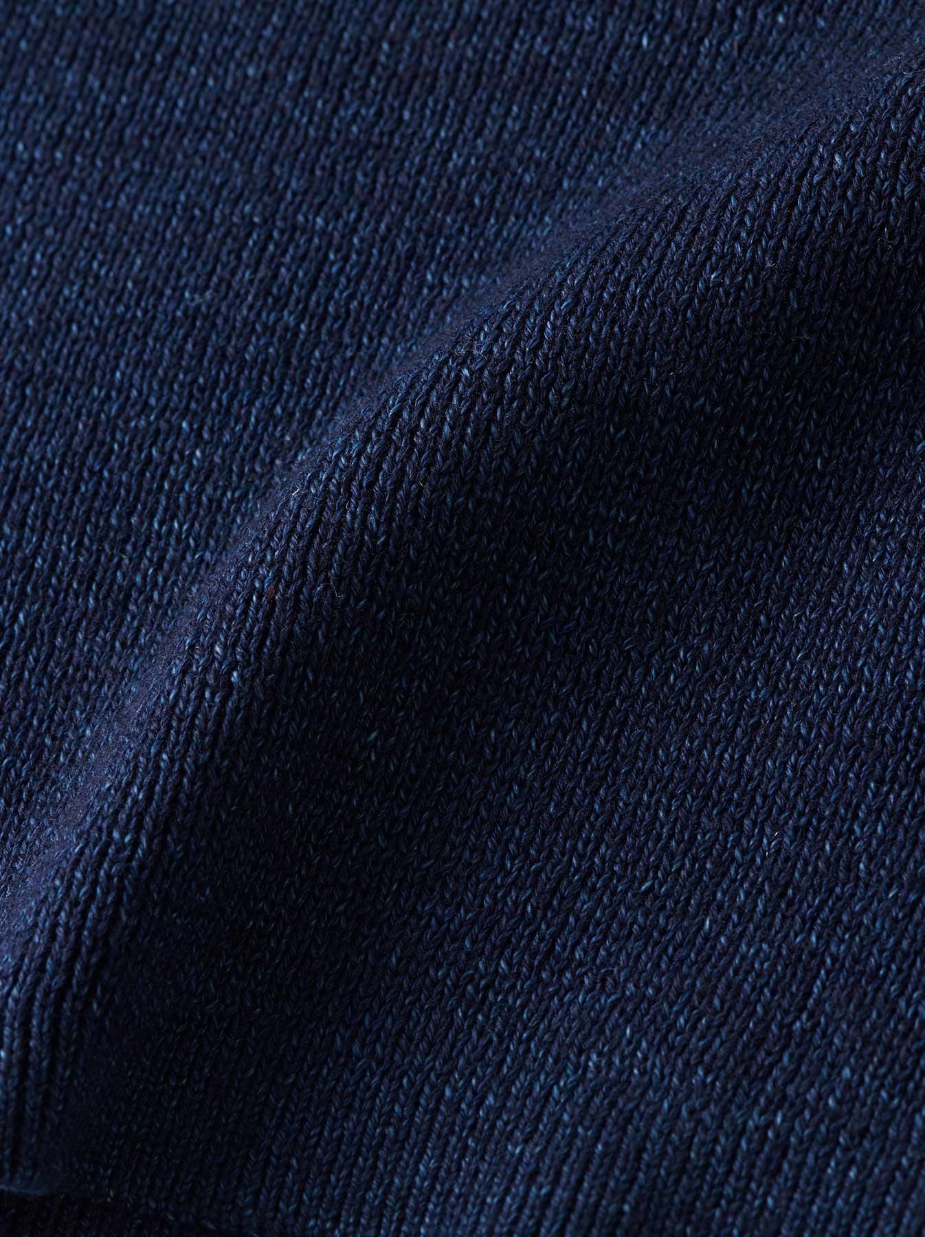 WH Indigo Supima Knit-sew Turtleneck-5