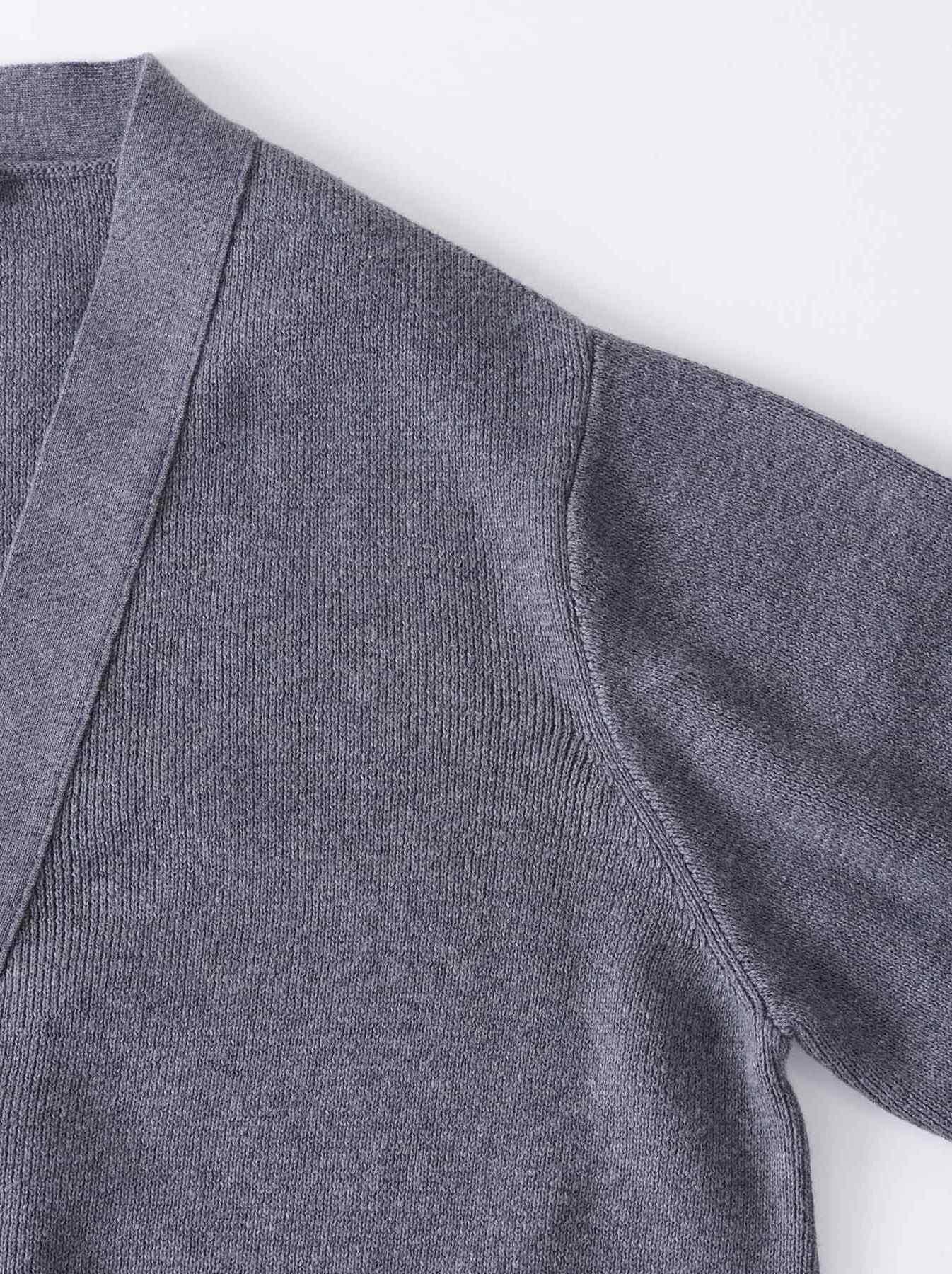 WH Supima Knit-sew Coat-7