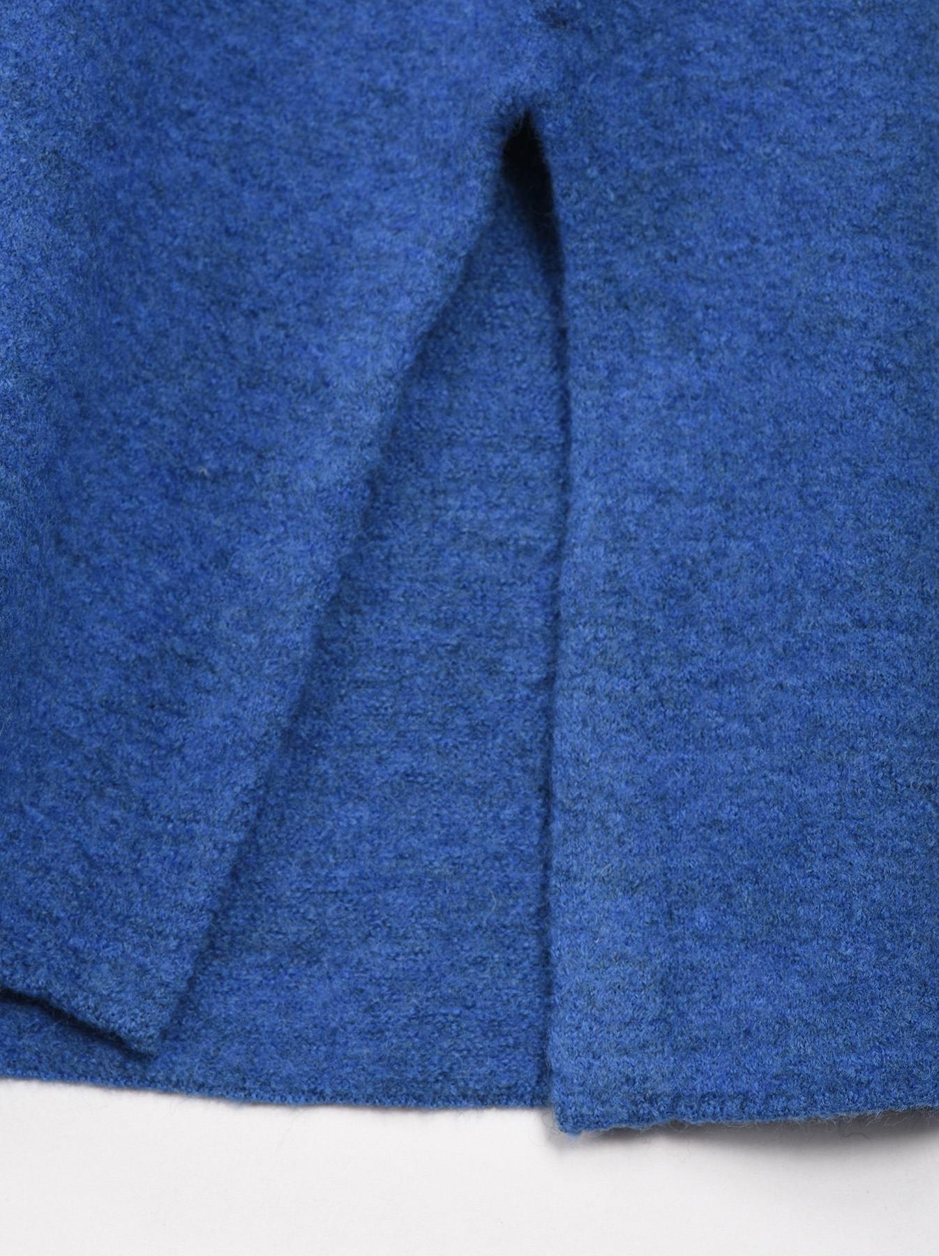 WH Arles Boiled Wool Stripe Big Tunic-12
