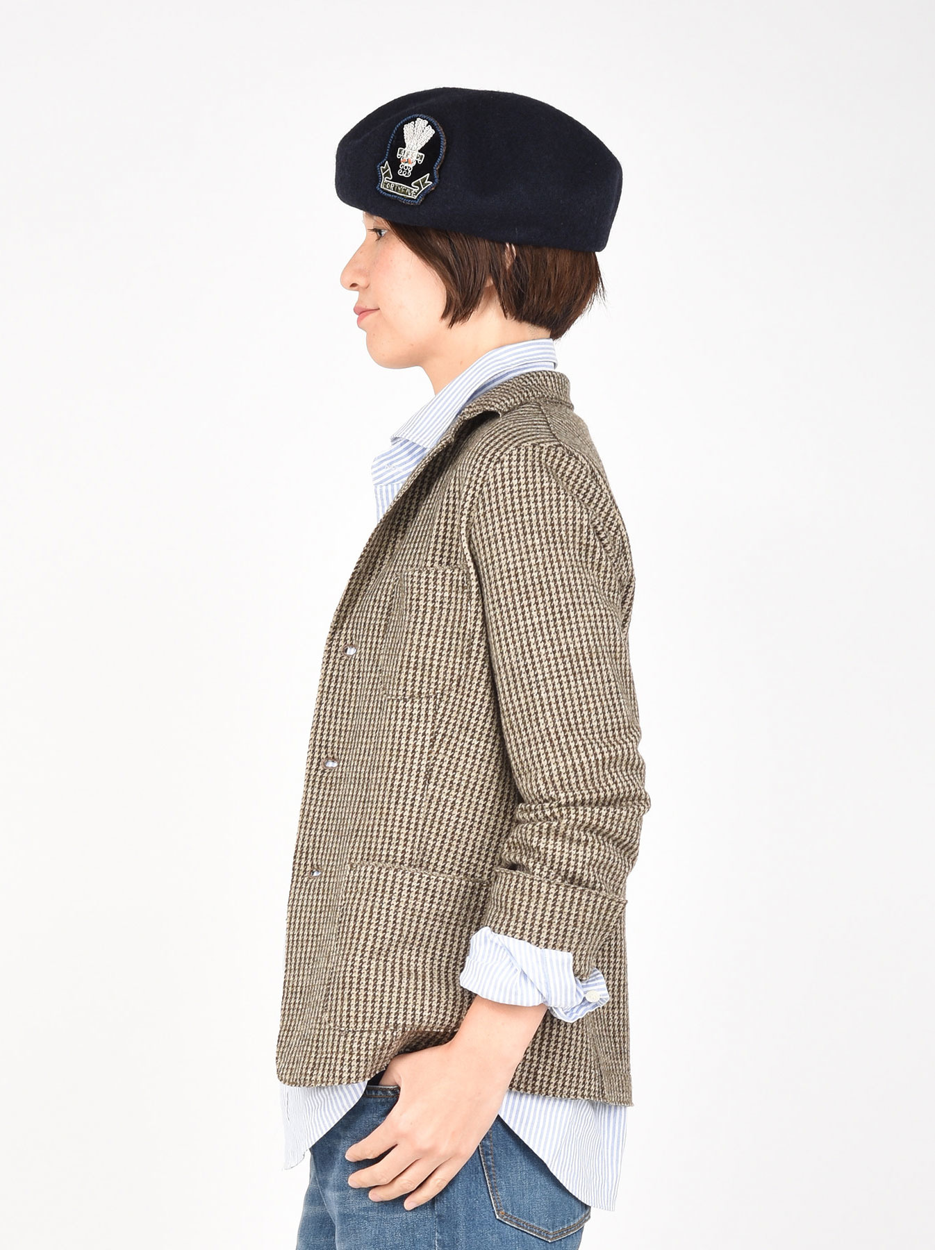 WH Jersey Flannel Jacket-4