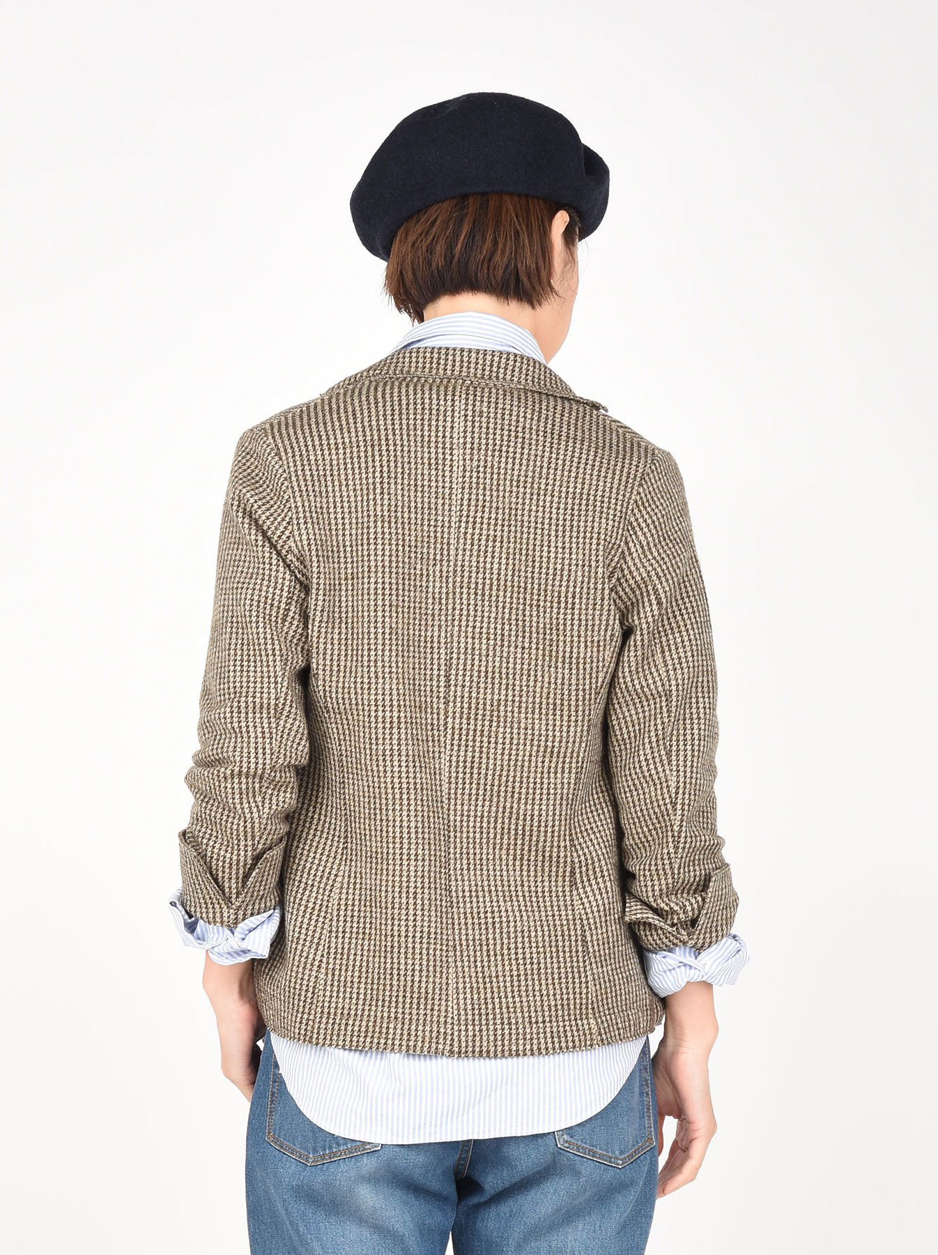 WH Jersey Flannel Jacket-5