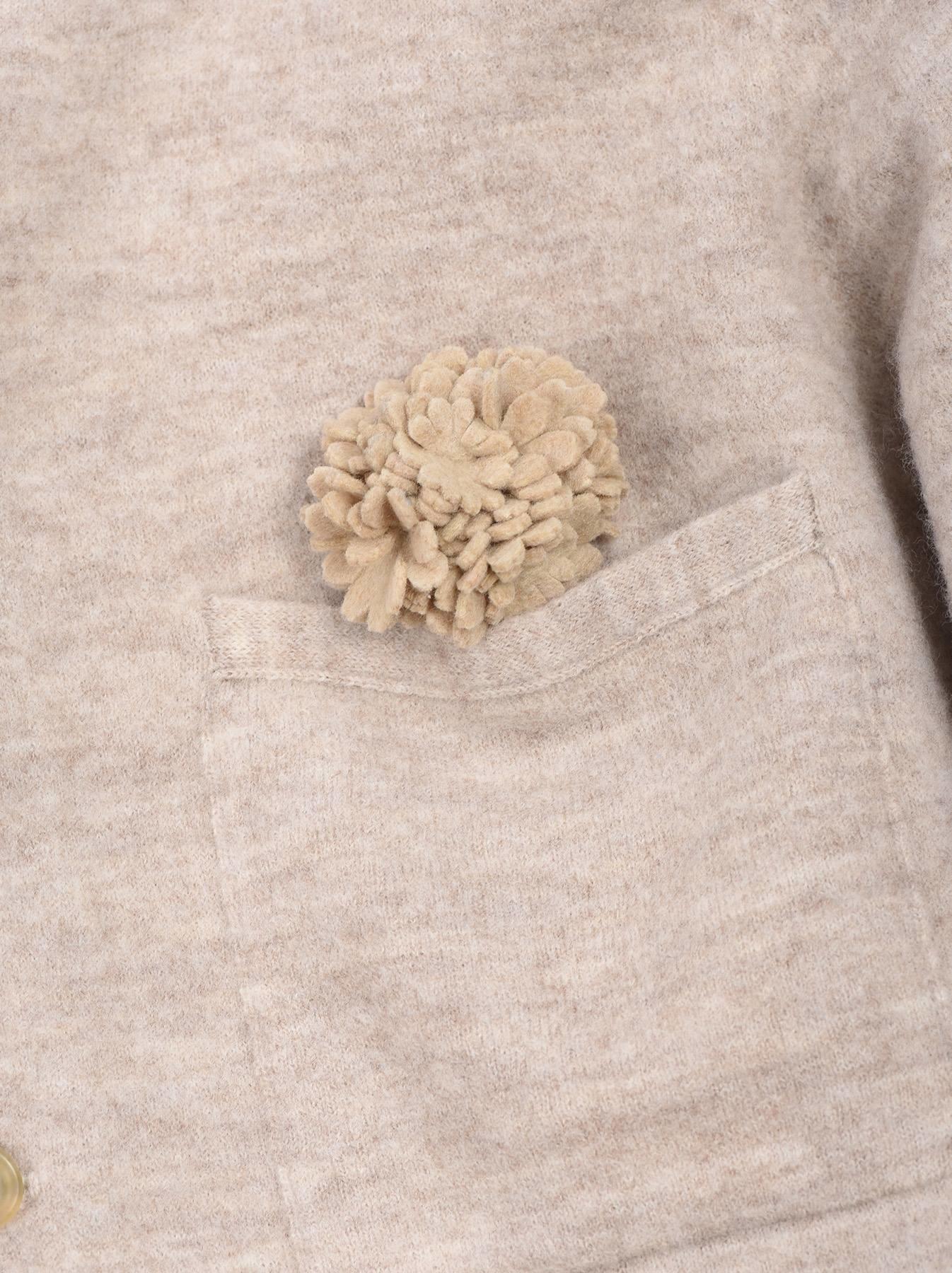 WH Float Knit Flower Tyrolean Cardigan-10