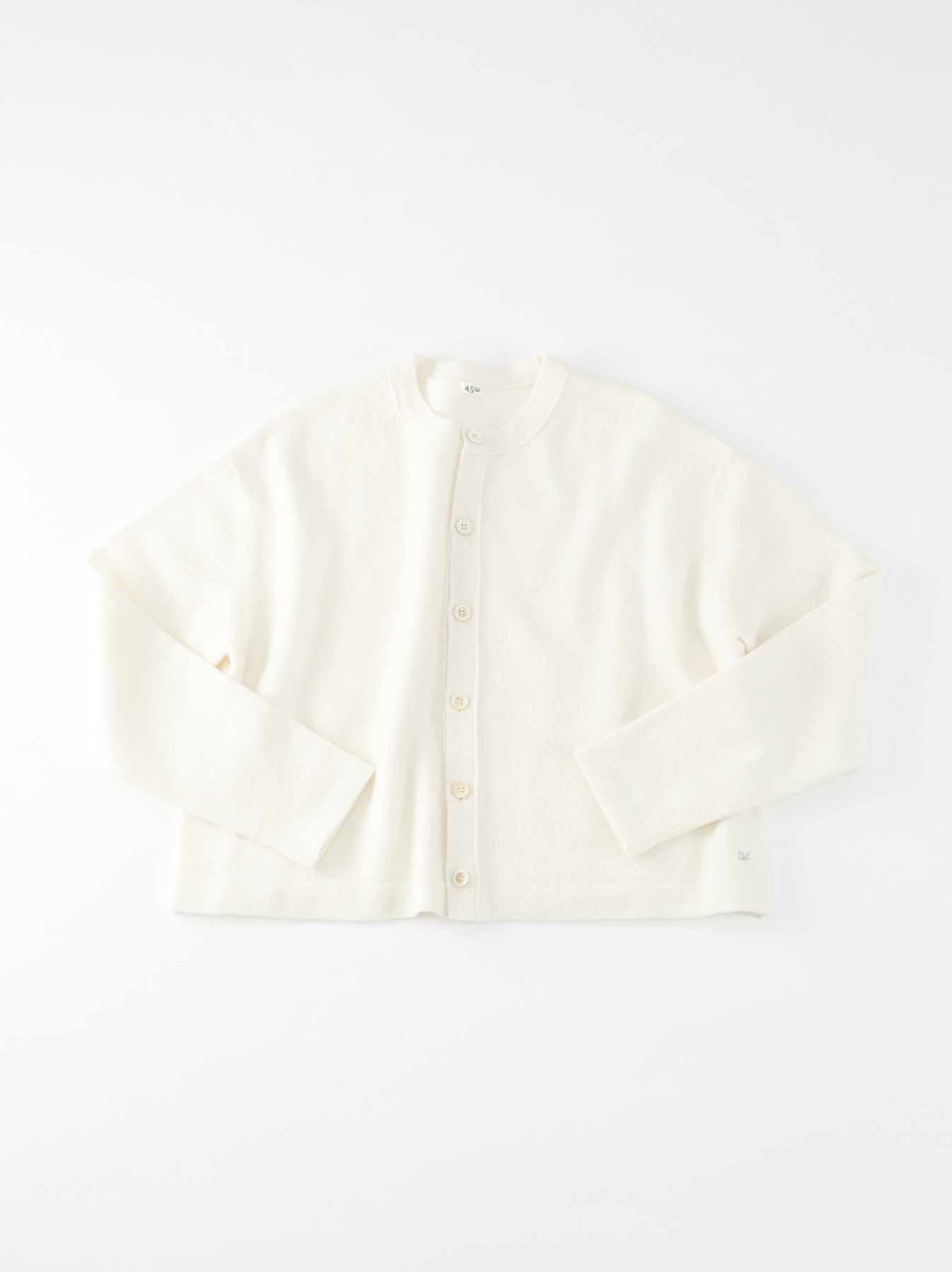 WH Boiled Puff Sleeve Cardigan-7