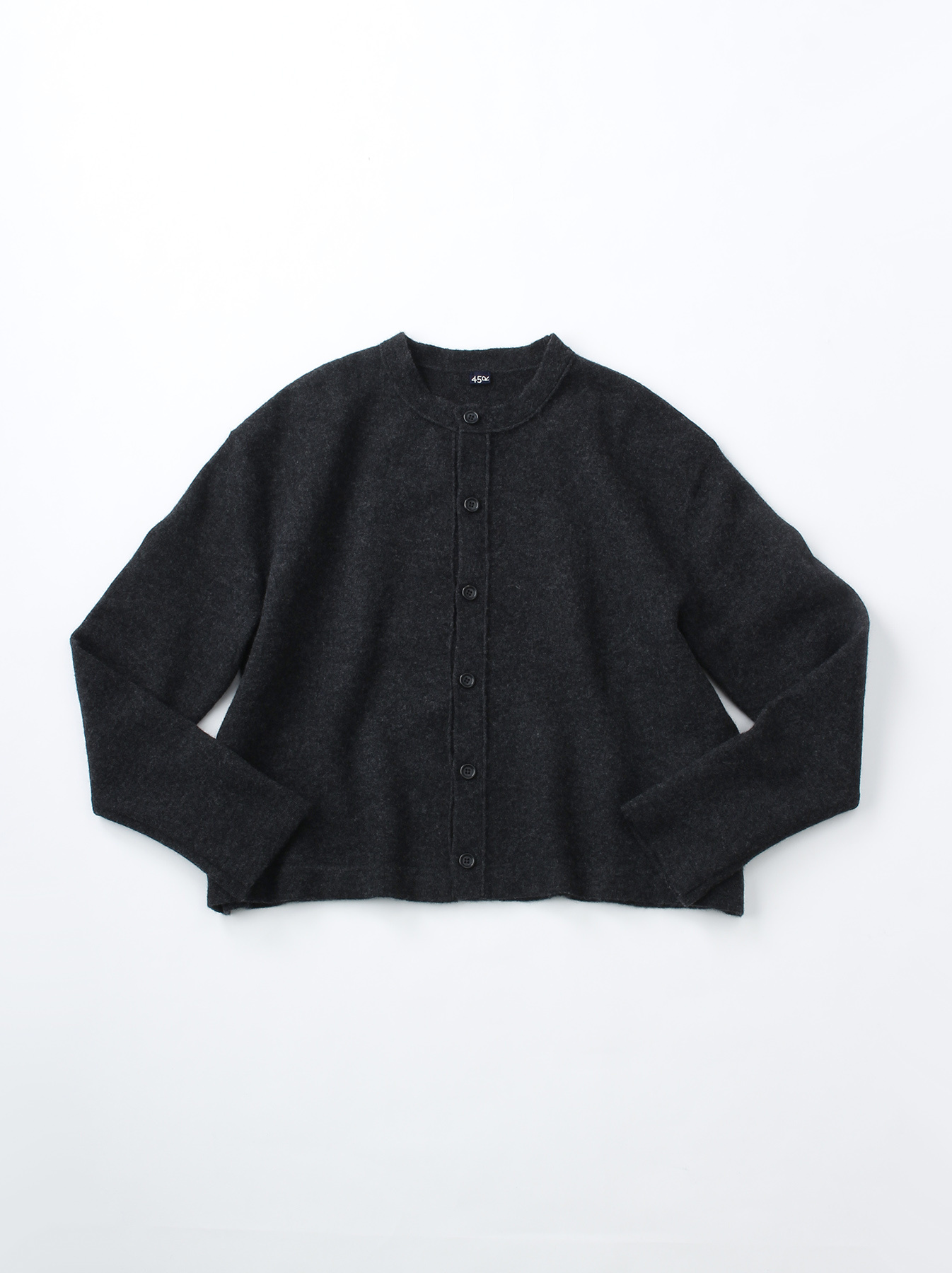 WH Boiled Puff Sleeve Cardigan-6