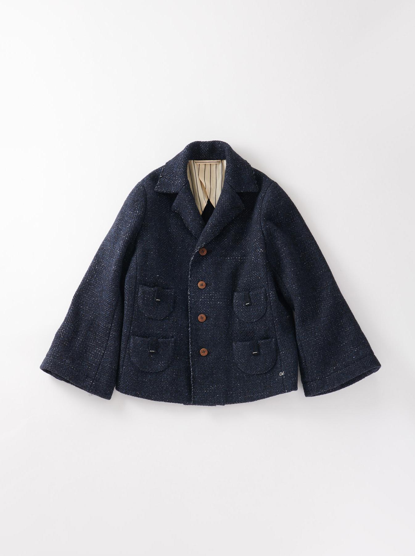Mixed Tweed Knit Jacket-1
