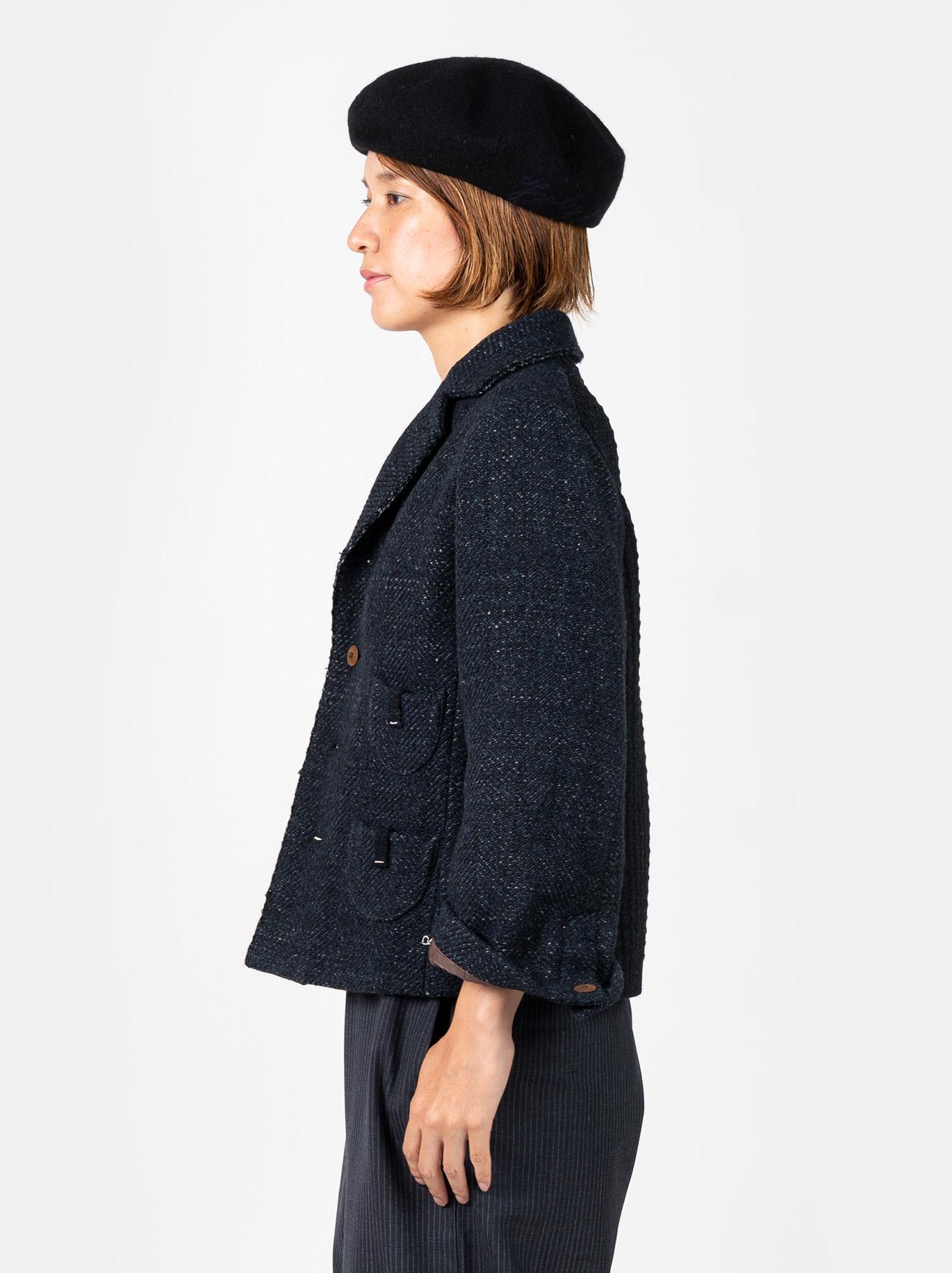 Mixed Tweed Knit Jacket-4
