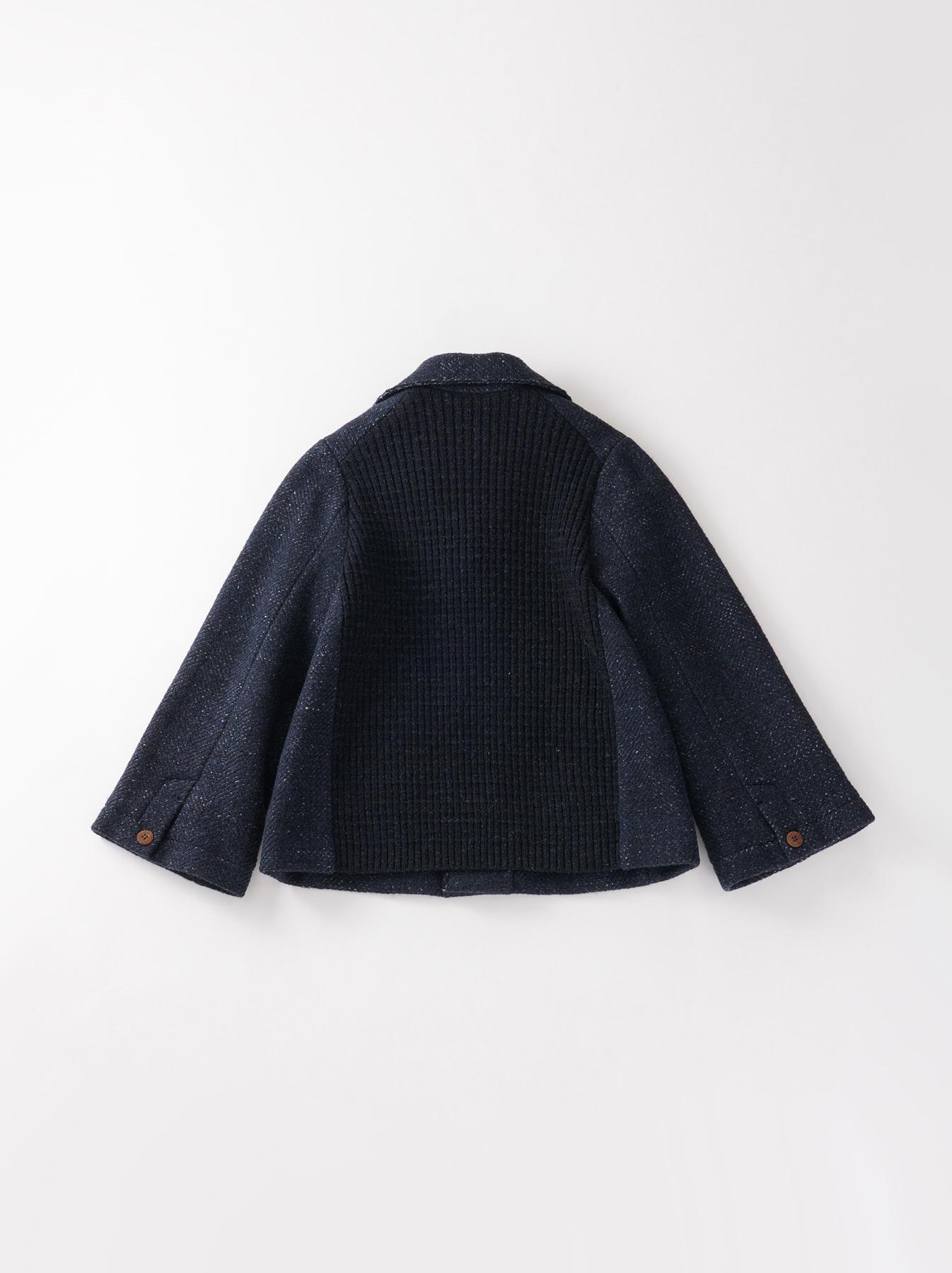 Mixed Tweed Knit Jacket-6