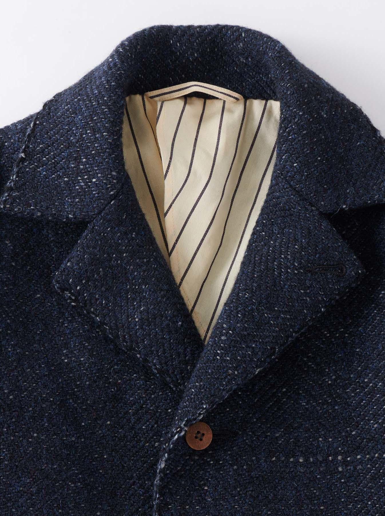 Mixed Tweed Knit Jacket-7