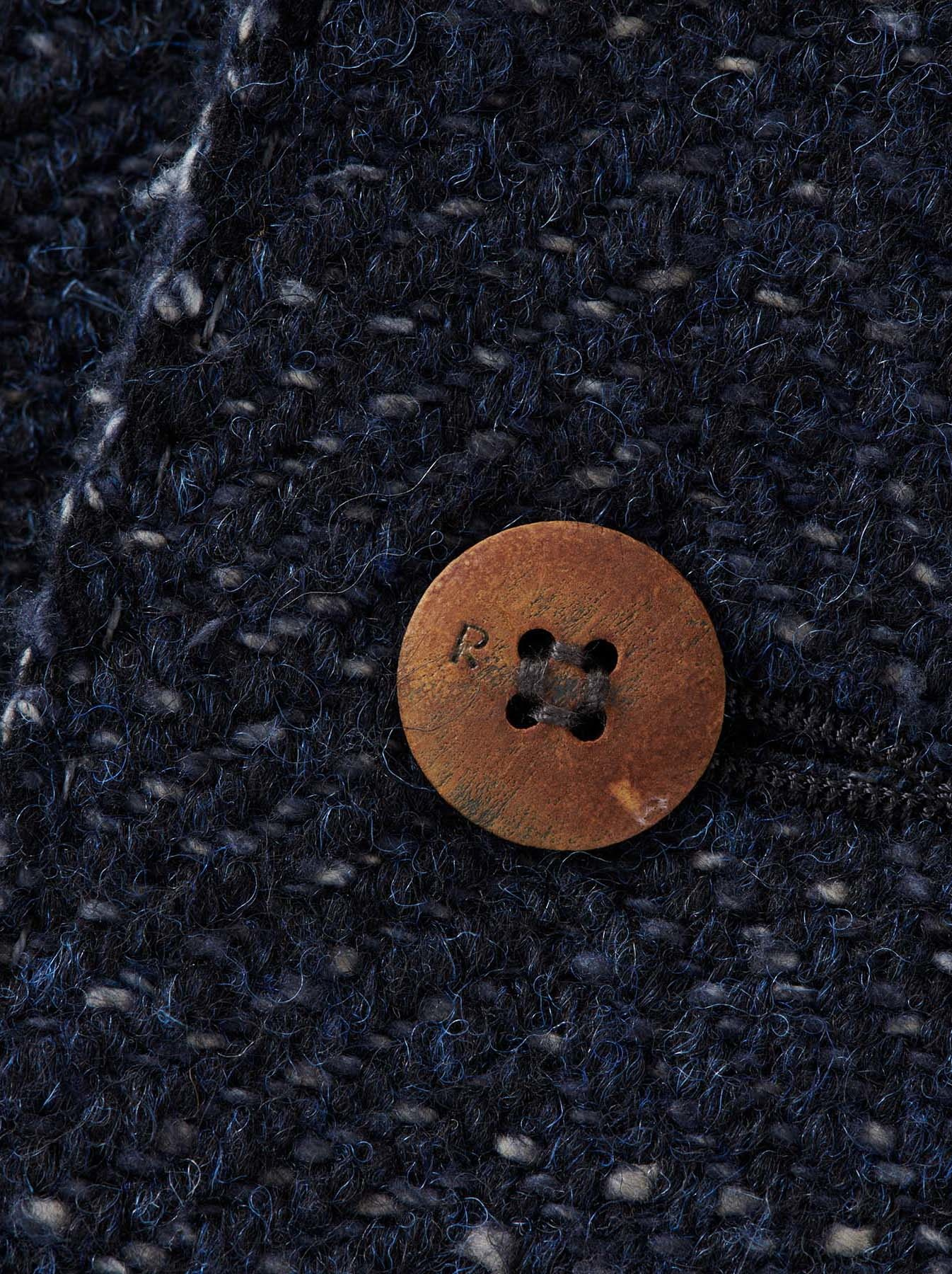 Mixed Tweed Knit Jacket-8