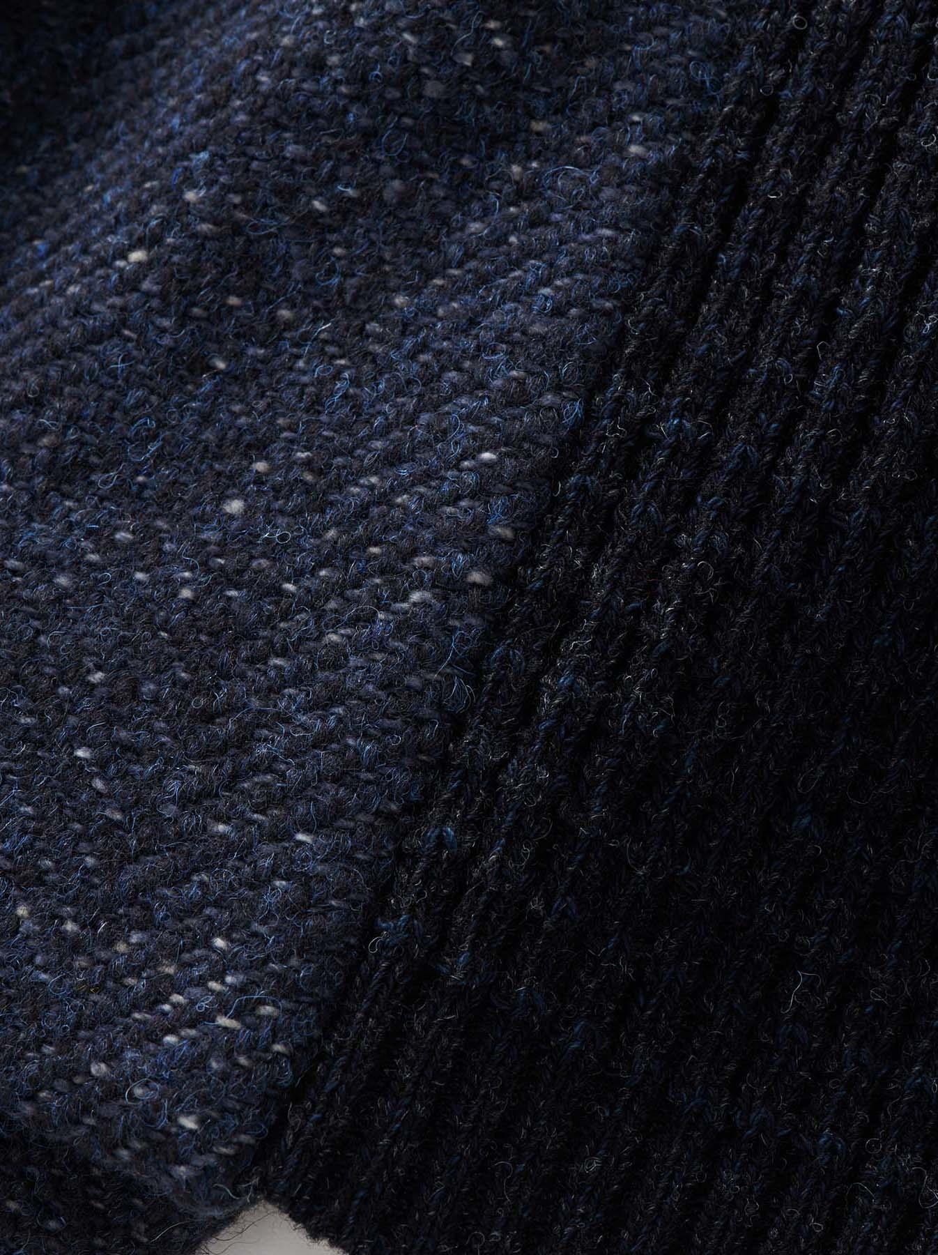 Mixed Tweed Knit Jacket-10
