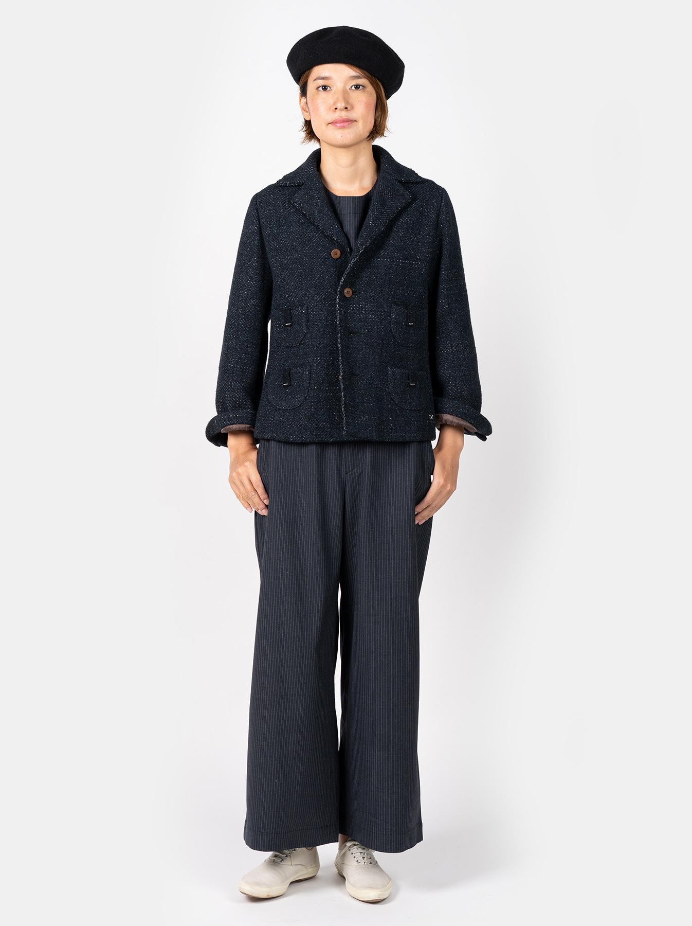Mixed Tweed Knit Jacket-2