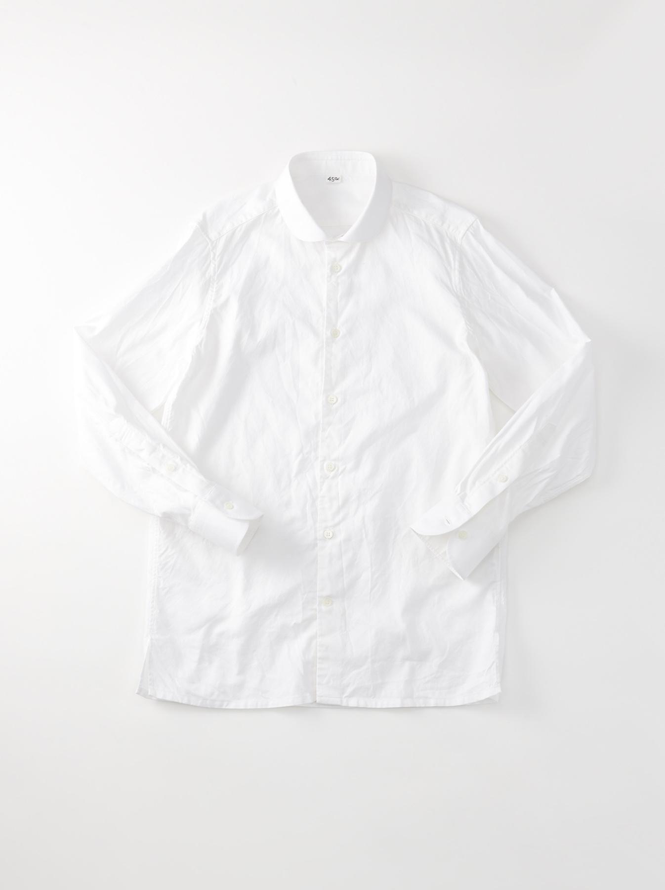 WH Oxford 908 Round Collar Shirt-1