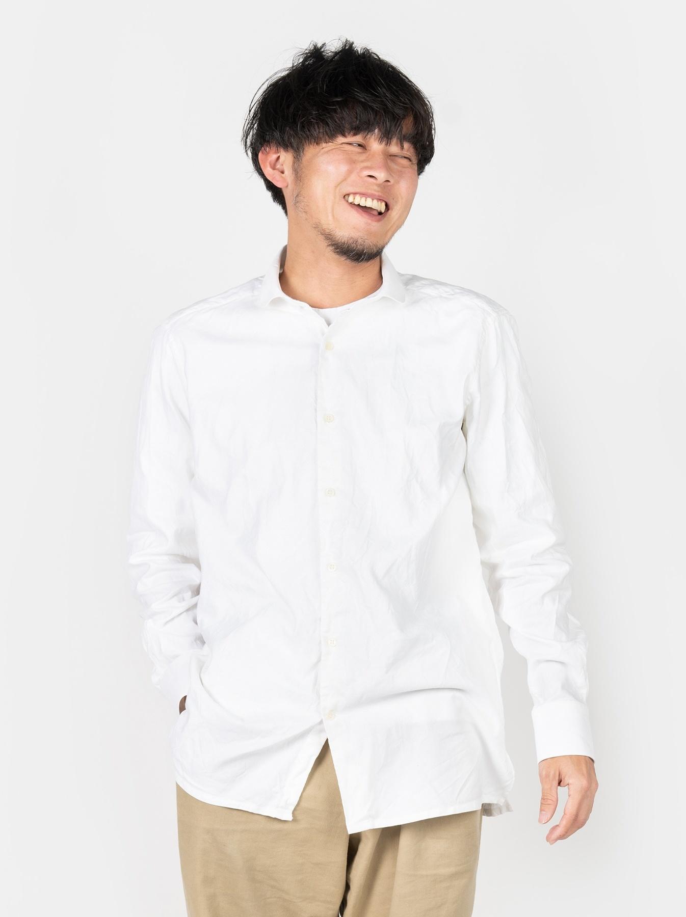 WH Oxford 908 Round Collar Shirt-3