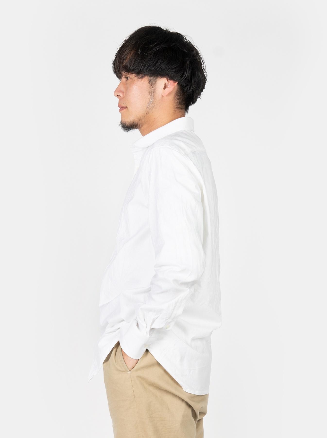 WH Oxford 908 Round Collar Shirt-4