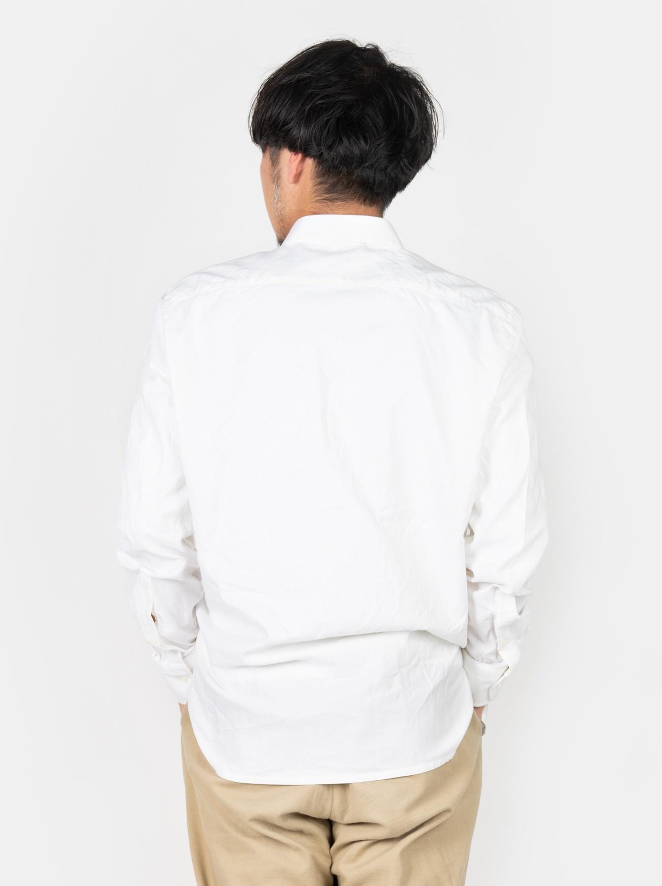 WH Oxford 908 Round Collar Shirt-5